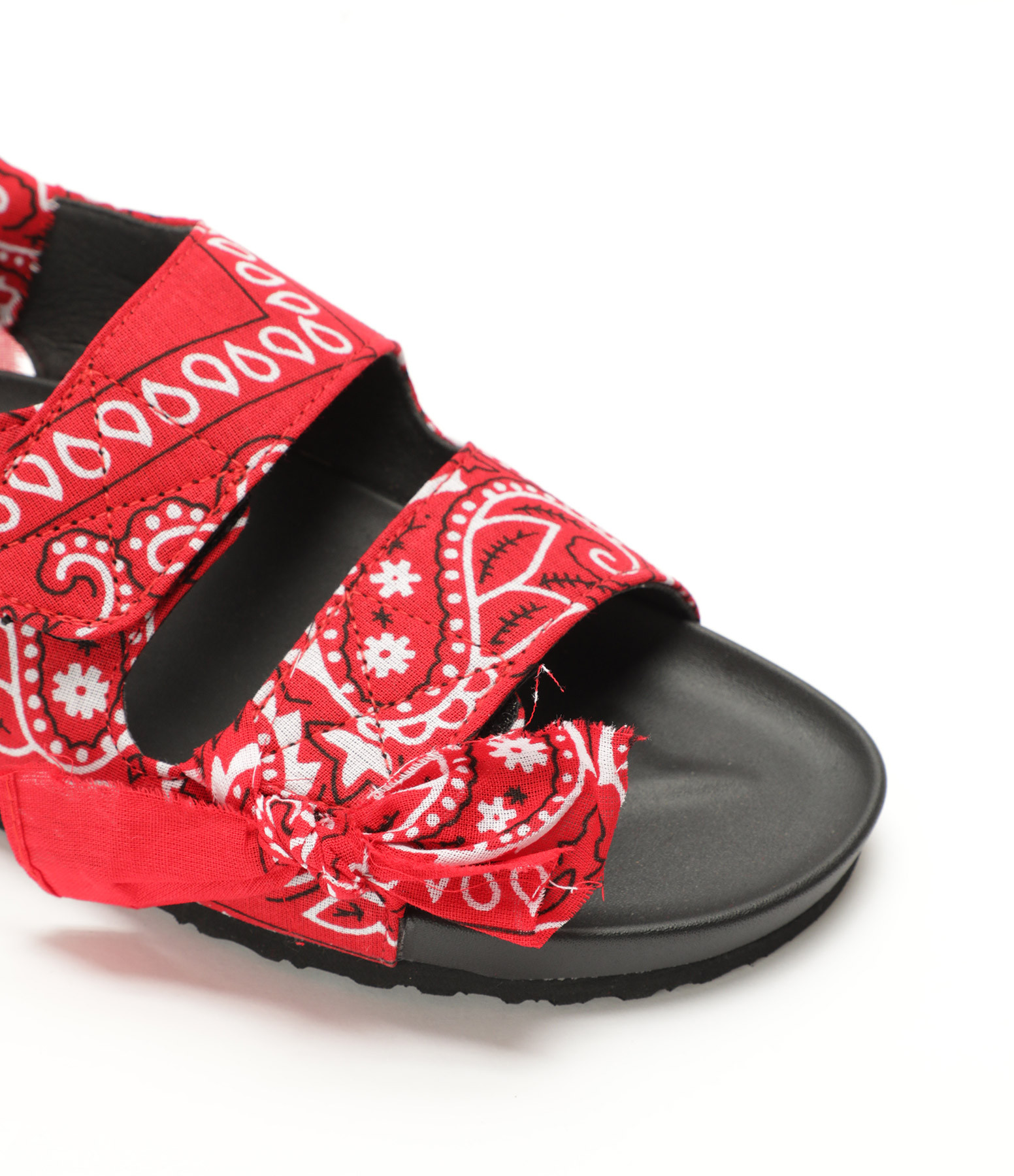 ARIZONA LOVE - Sandales Apache Bandana Rouge