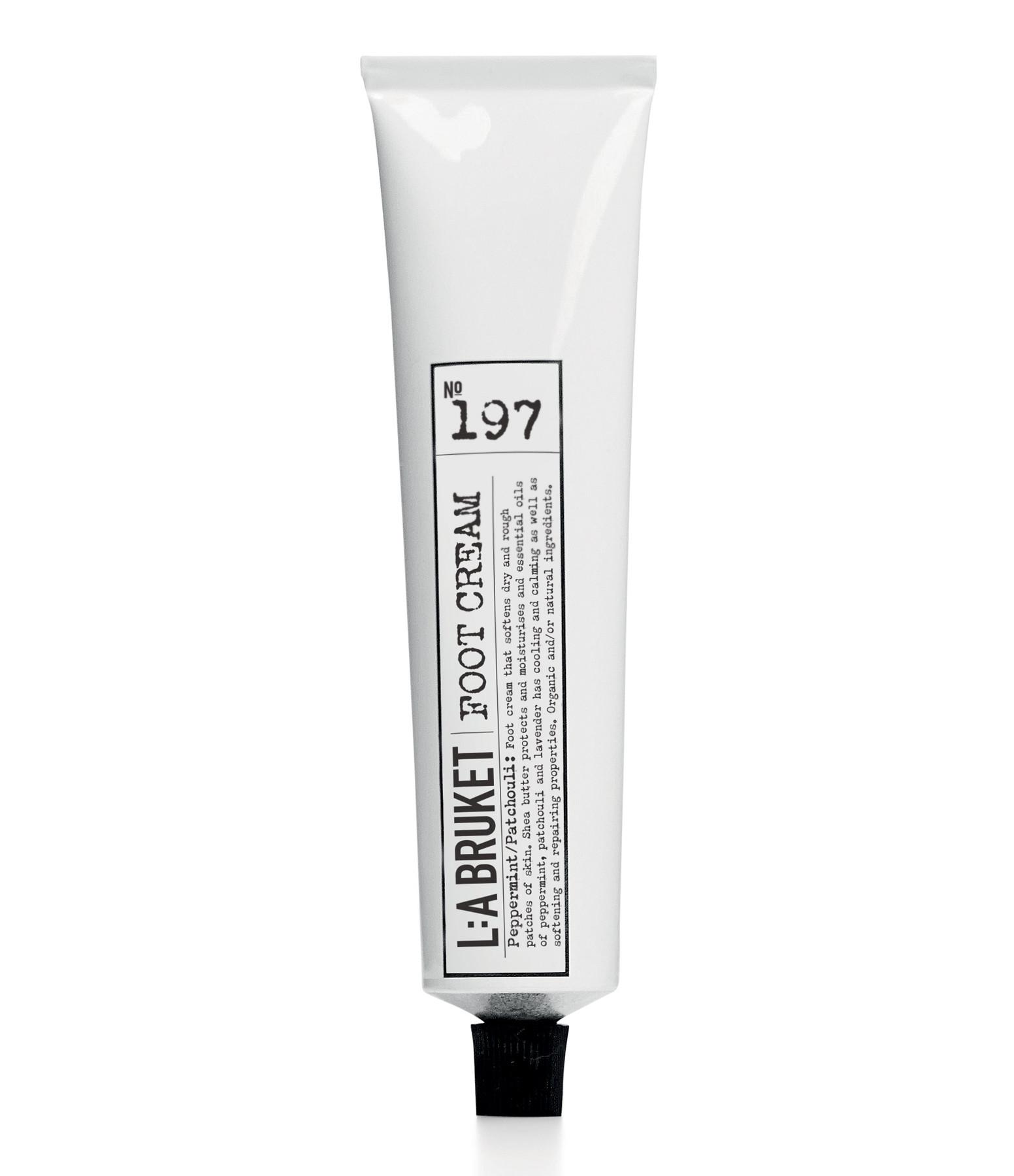 L:A BRUKET - N°197 Crème Pieds Menthe Poivrée Patchouli 70ml