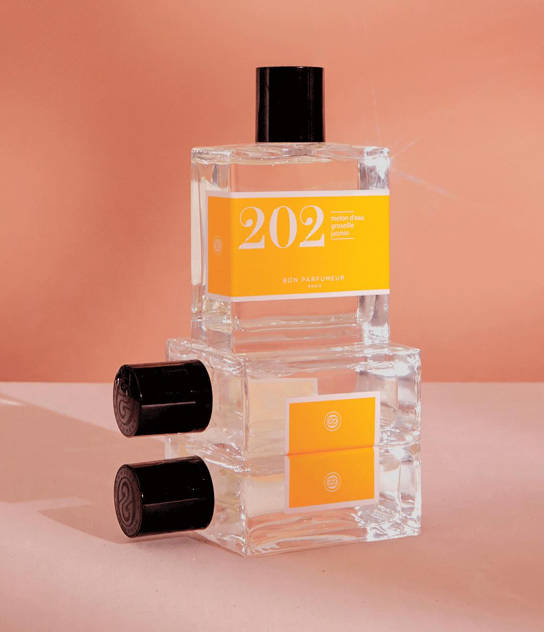 BON PARFUMEUR - Eau de Parfum #202 Melon d'eau, Groseille, Jasmin