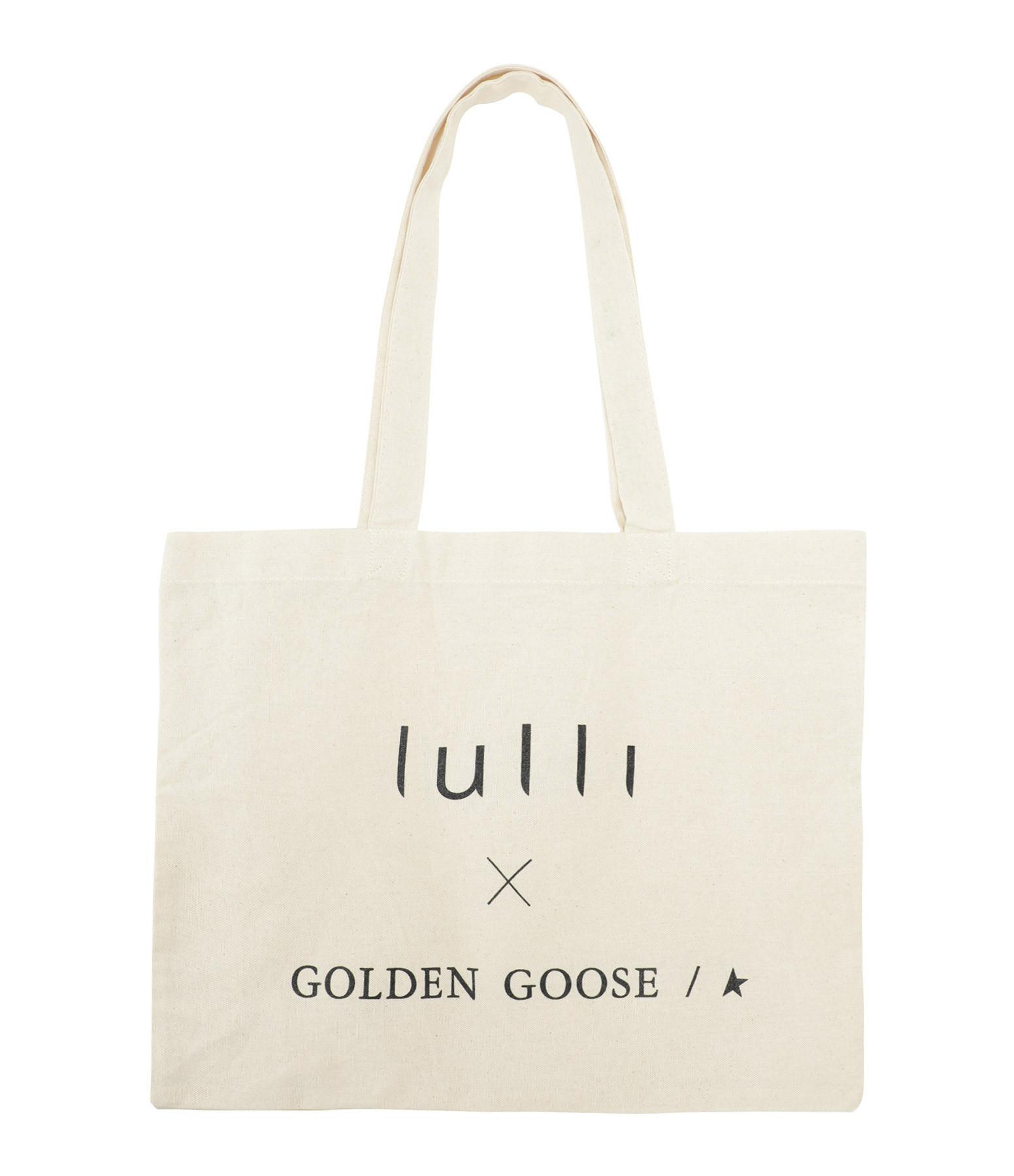 LULLI - Tote bag Lulli Boutique Golden Goose Noir