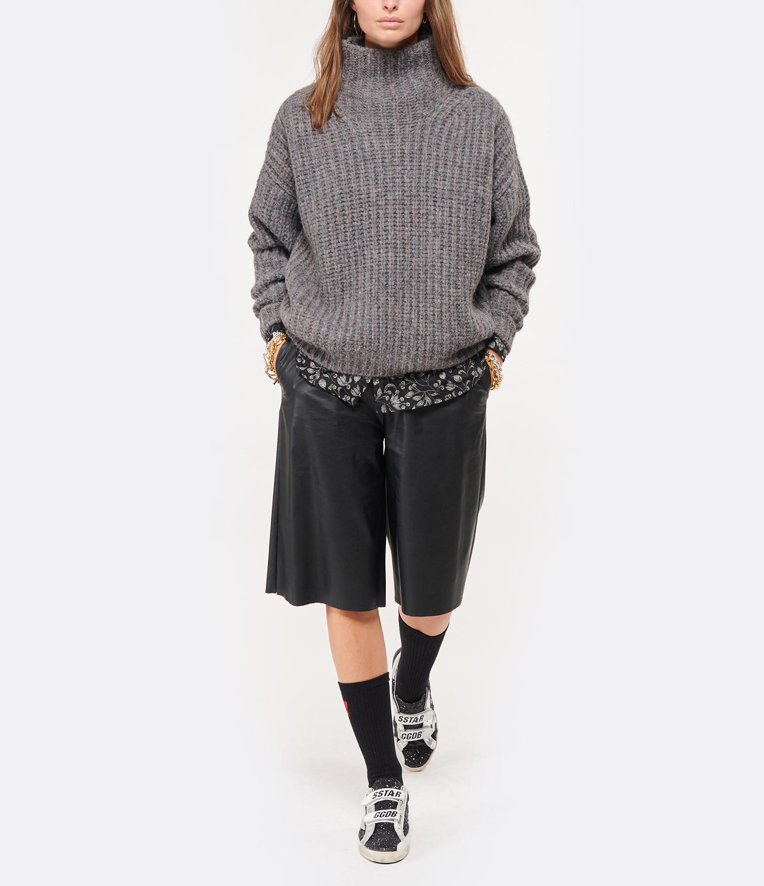AMI PARIS - Chaussettes Ami de Coeur Coton Biologique Noir