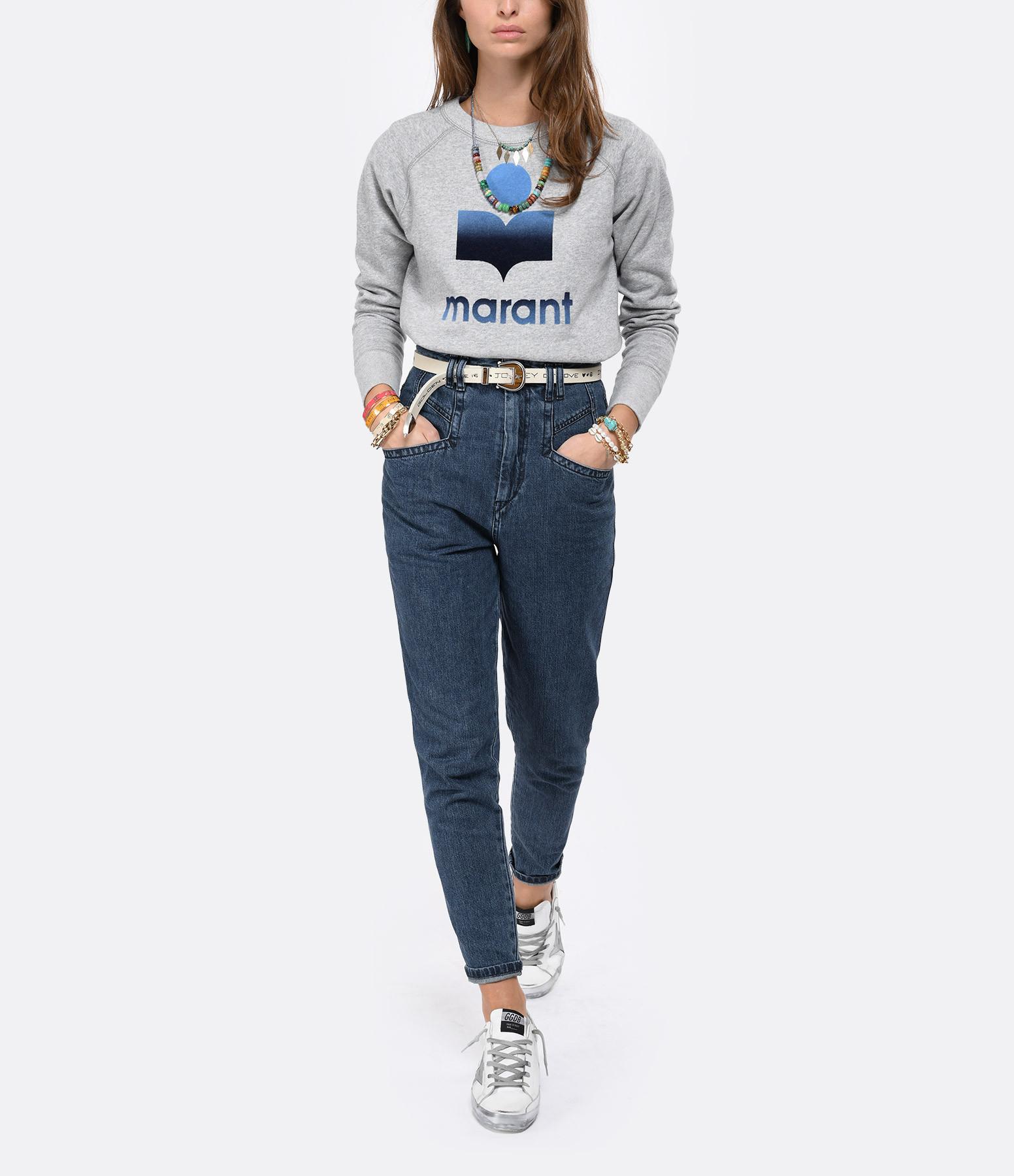 ISABEL MARANT - Pantalon Padeloisasr Denim Navy