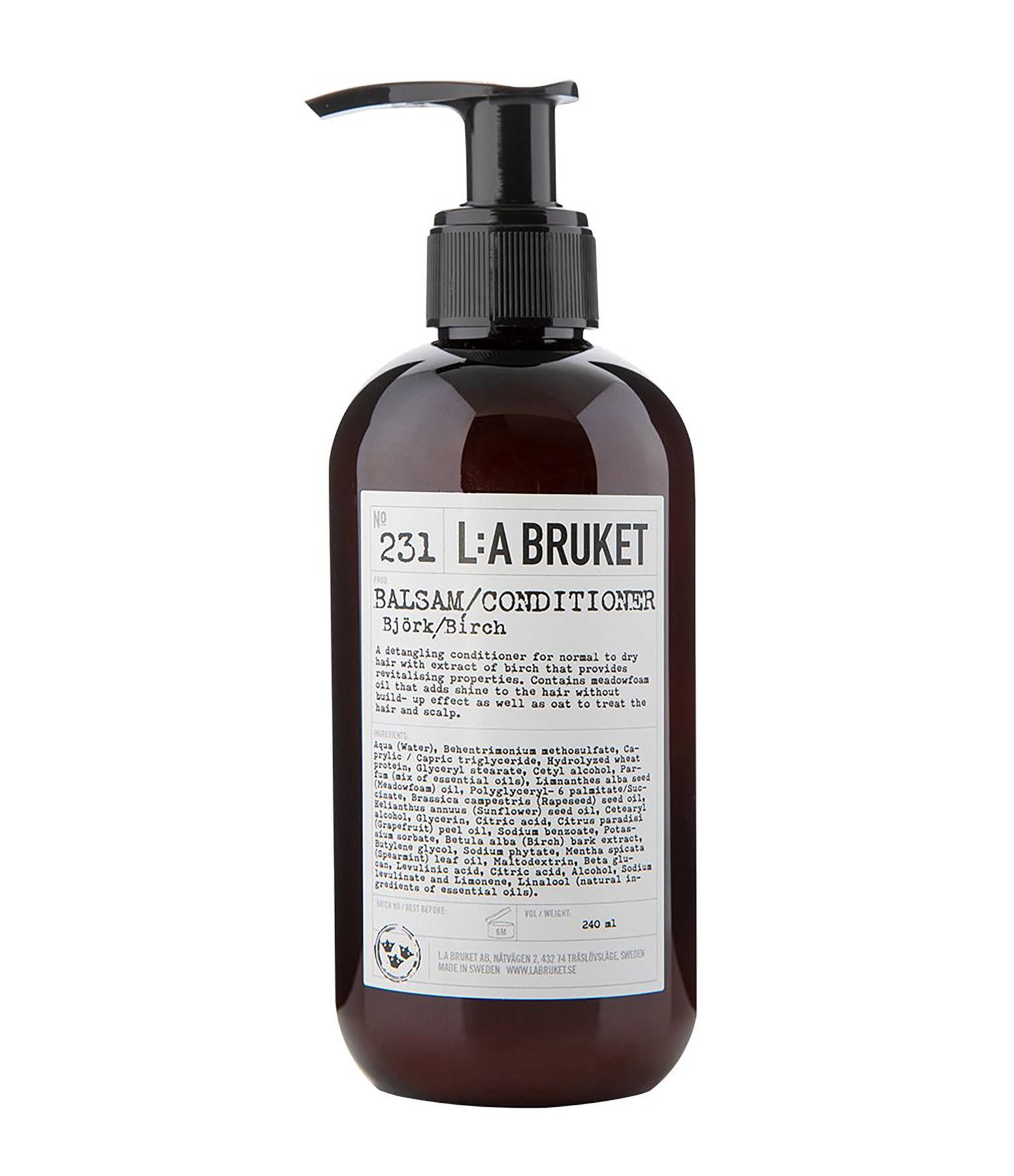 L:A BRUKET - Après-Shampoing Bouleau Aloe Vera 240 ml N°231