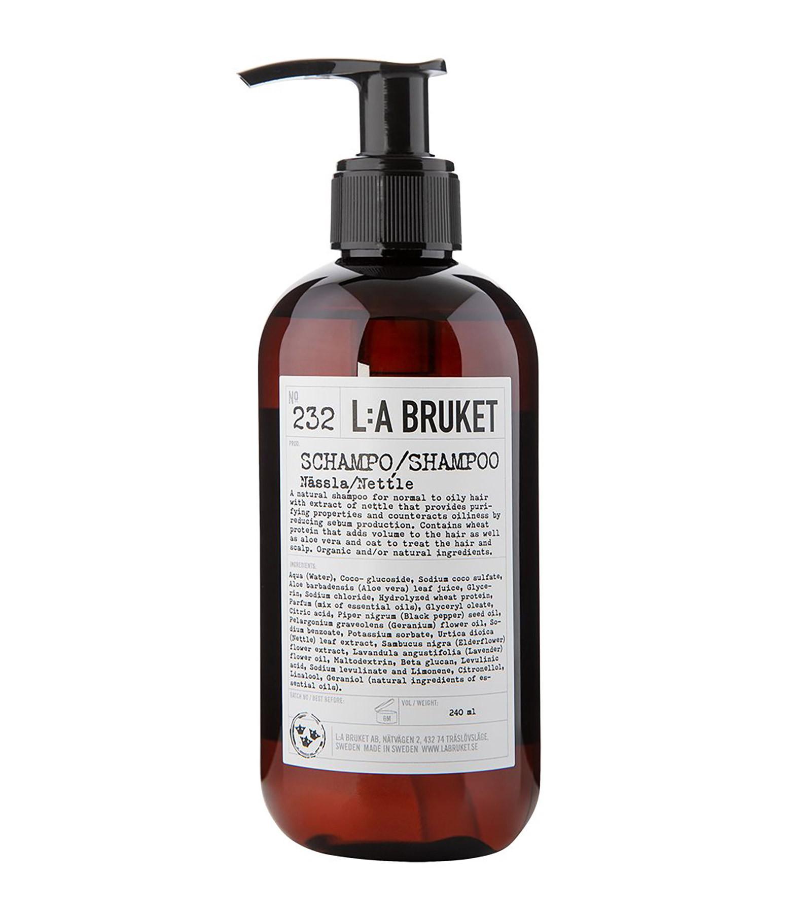 L:A BRUKET - Shampoing Orties 240 ml N°232