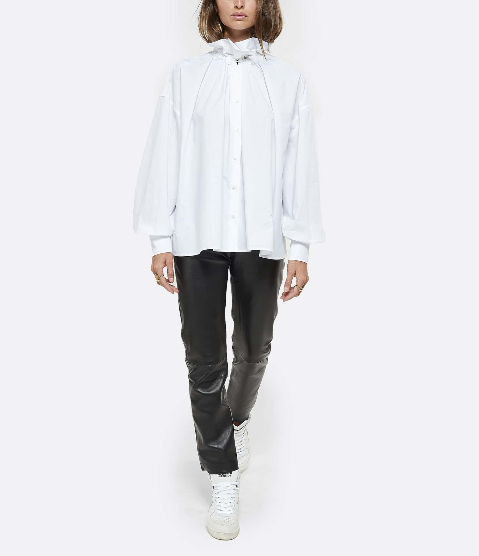 MM6 MAISON MARGIELA - Chemise Coton Blanc
