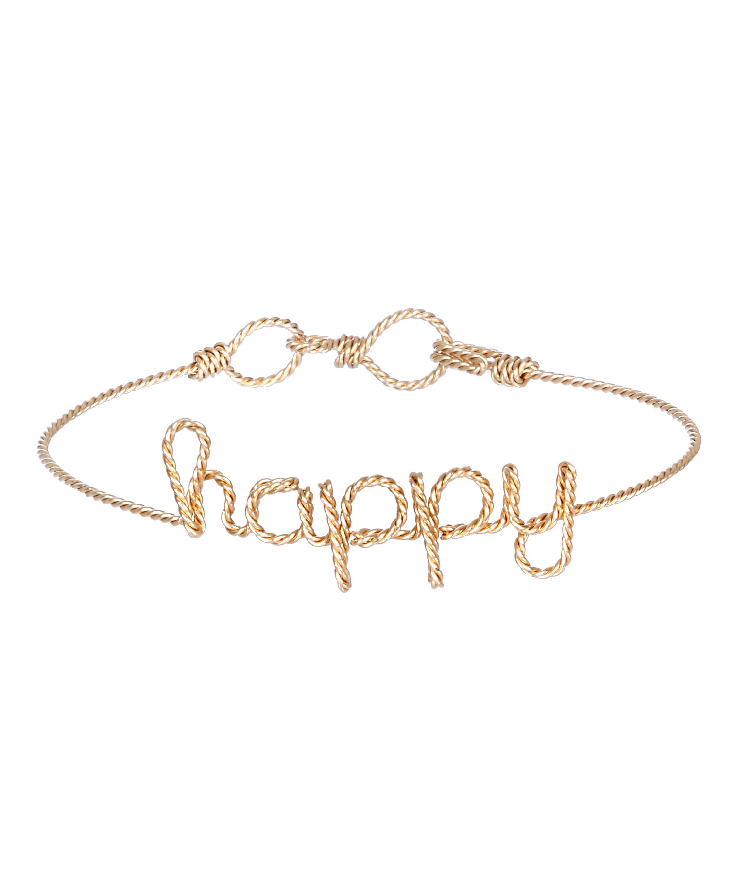 Bracelet Fils Torsadés Happy Gold Filled - ATELIER PAULIN