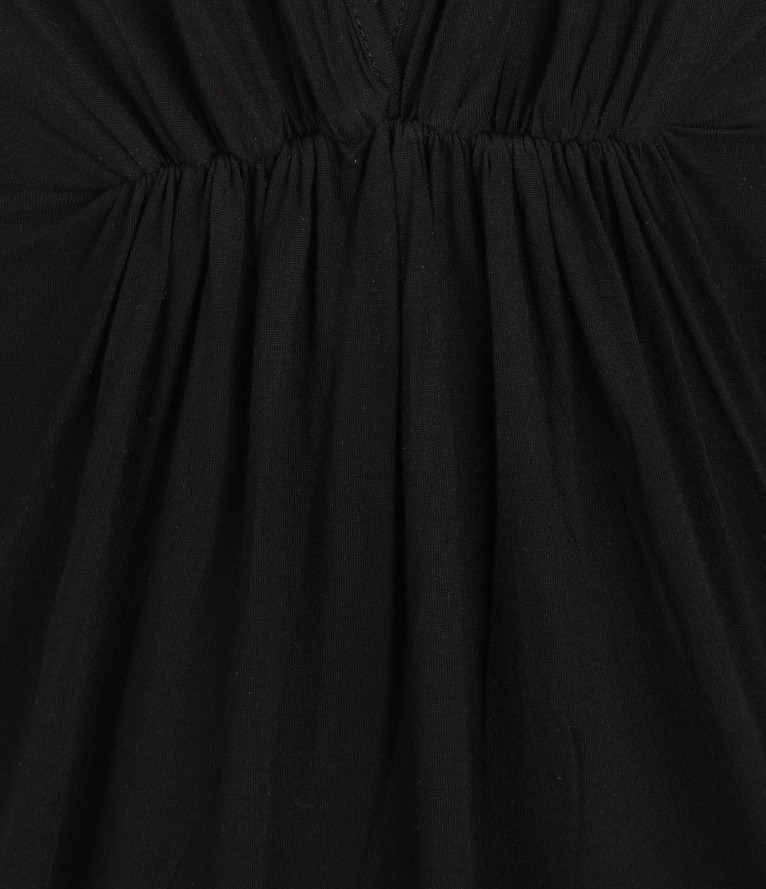 MAEVY - Robe Lilou Bambou Noir