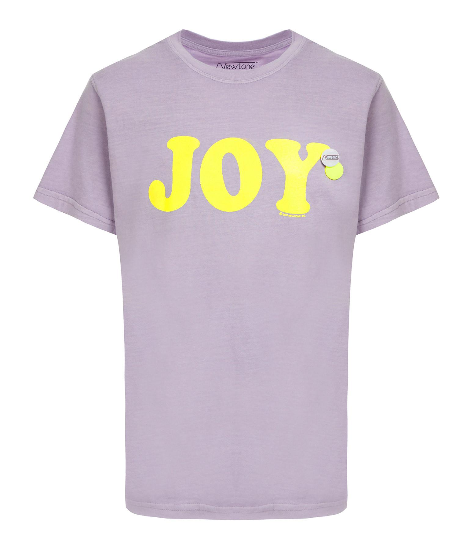 NEWTONE - Tee-shirt Trucker Joy Coton Lilac