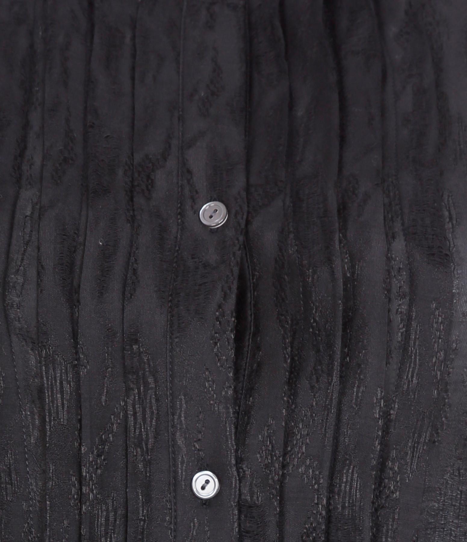 Chemise Estelle Coton Soie Noir - NILI LOTAN