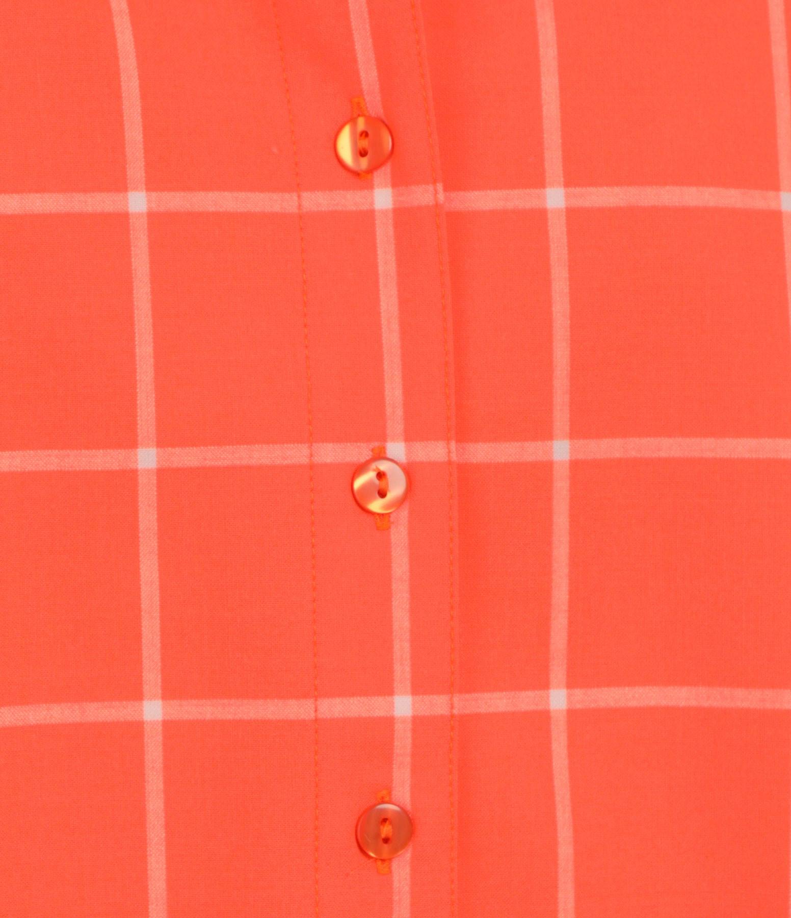 MODETROTTER - Chemise Eimy Laine Imprimé Camara Orange