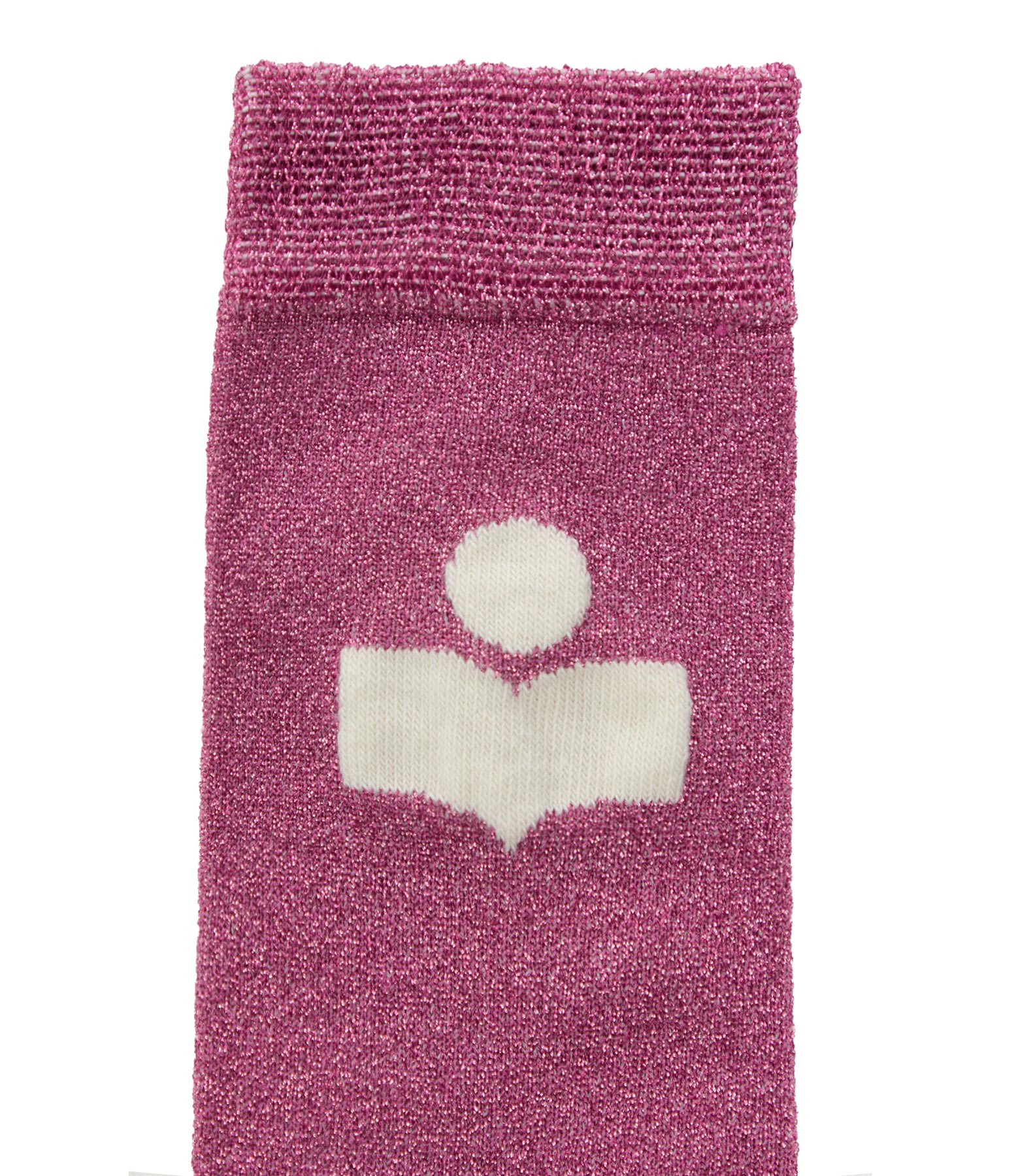 ISABEL MARANT - Chaussettes Slazia Rose Bonbon