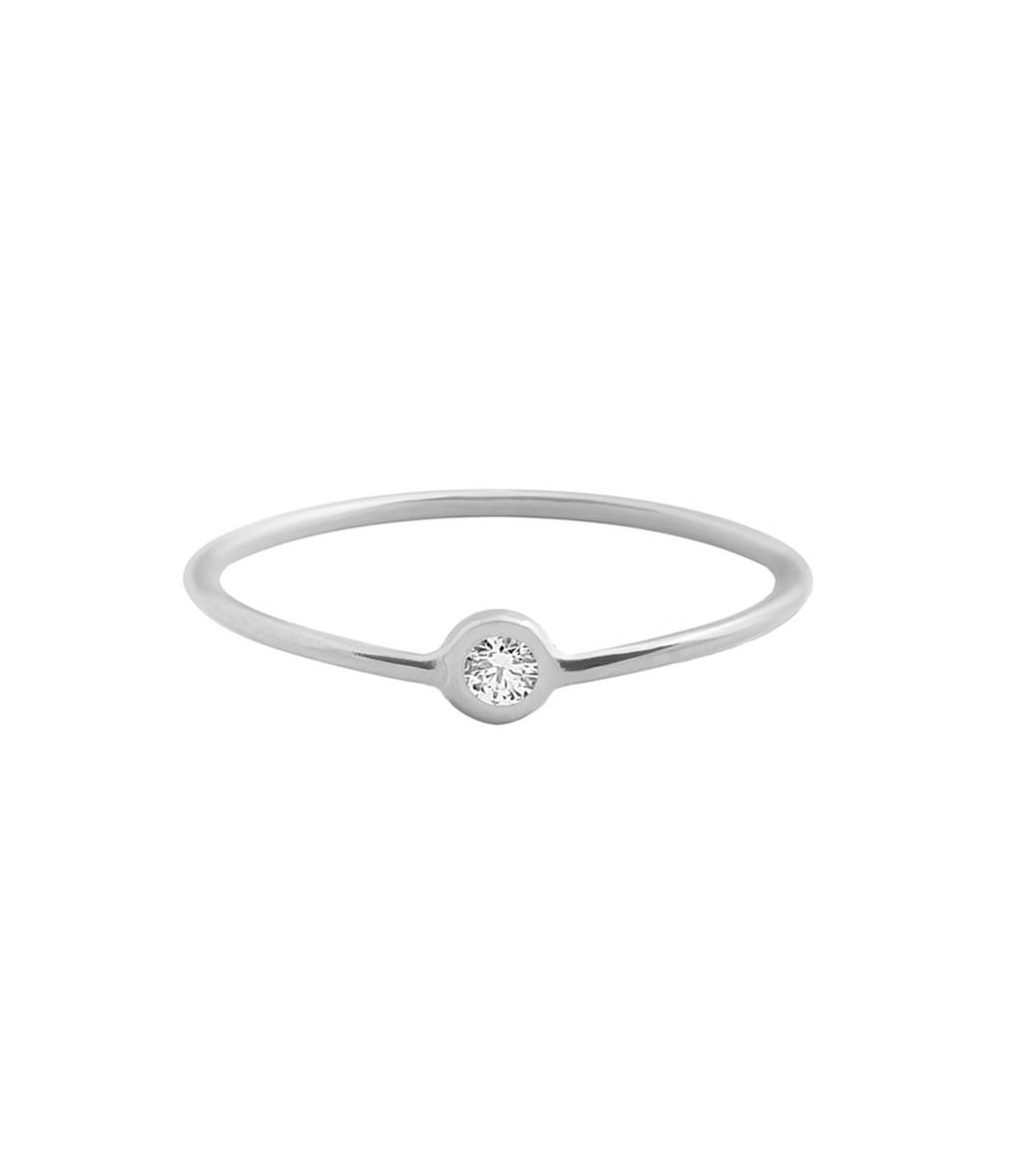 Bague Fine Diamant - CLOZEAU