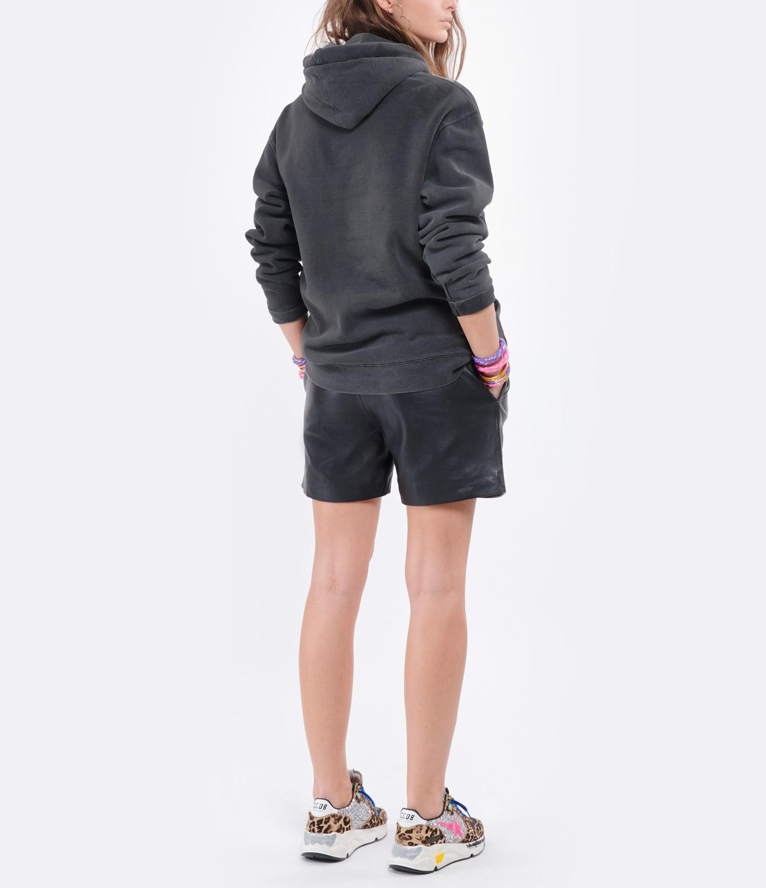 NEWTONE - Sweatshirt Roller Crime Coton Pepper