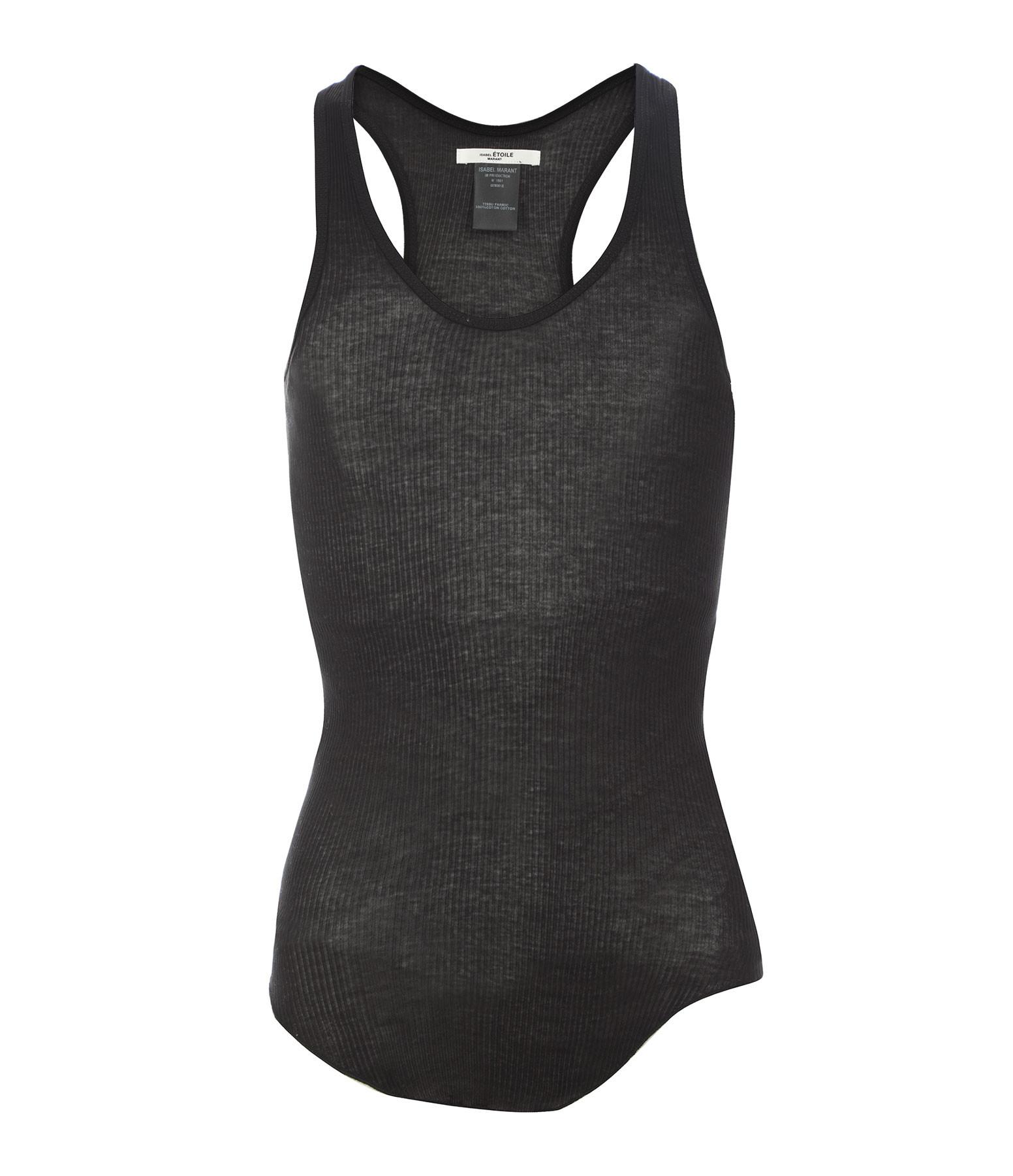ISABEL MARANT ÉTOILE - Tee-shirt Louisa Coton Noir