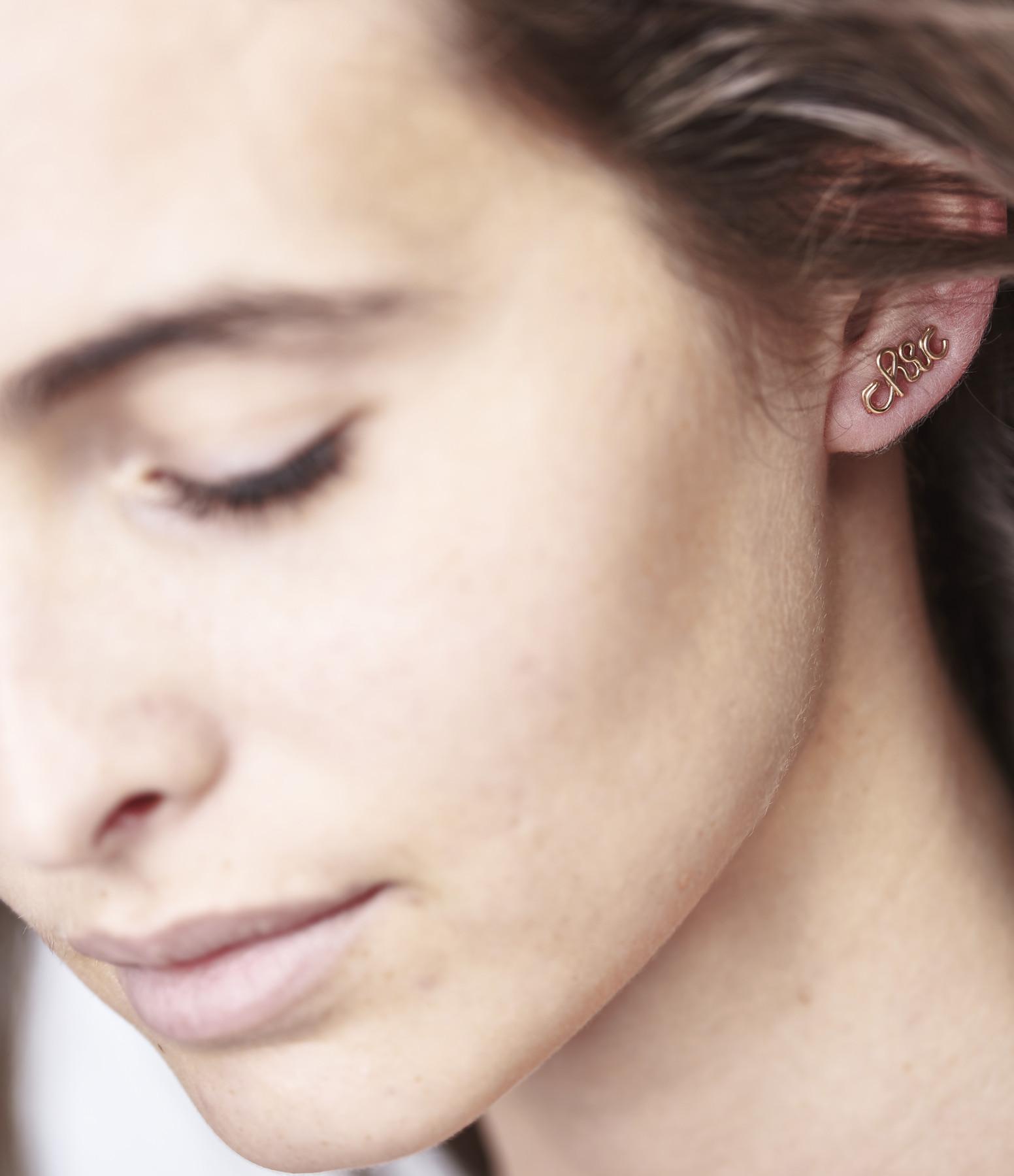 ATELIER PAULIN - Boucle d'oreille Chic Gold Filled (vendue à l'unité)