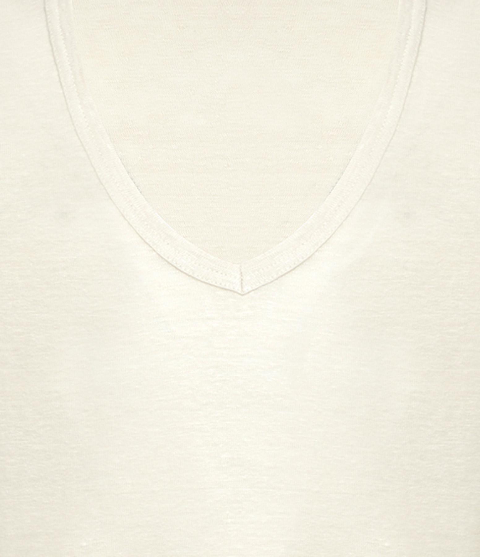 ISABEL MARANT ÉTOILE - Tee-shirt Kranger Lin Écru