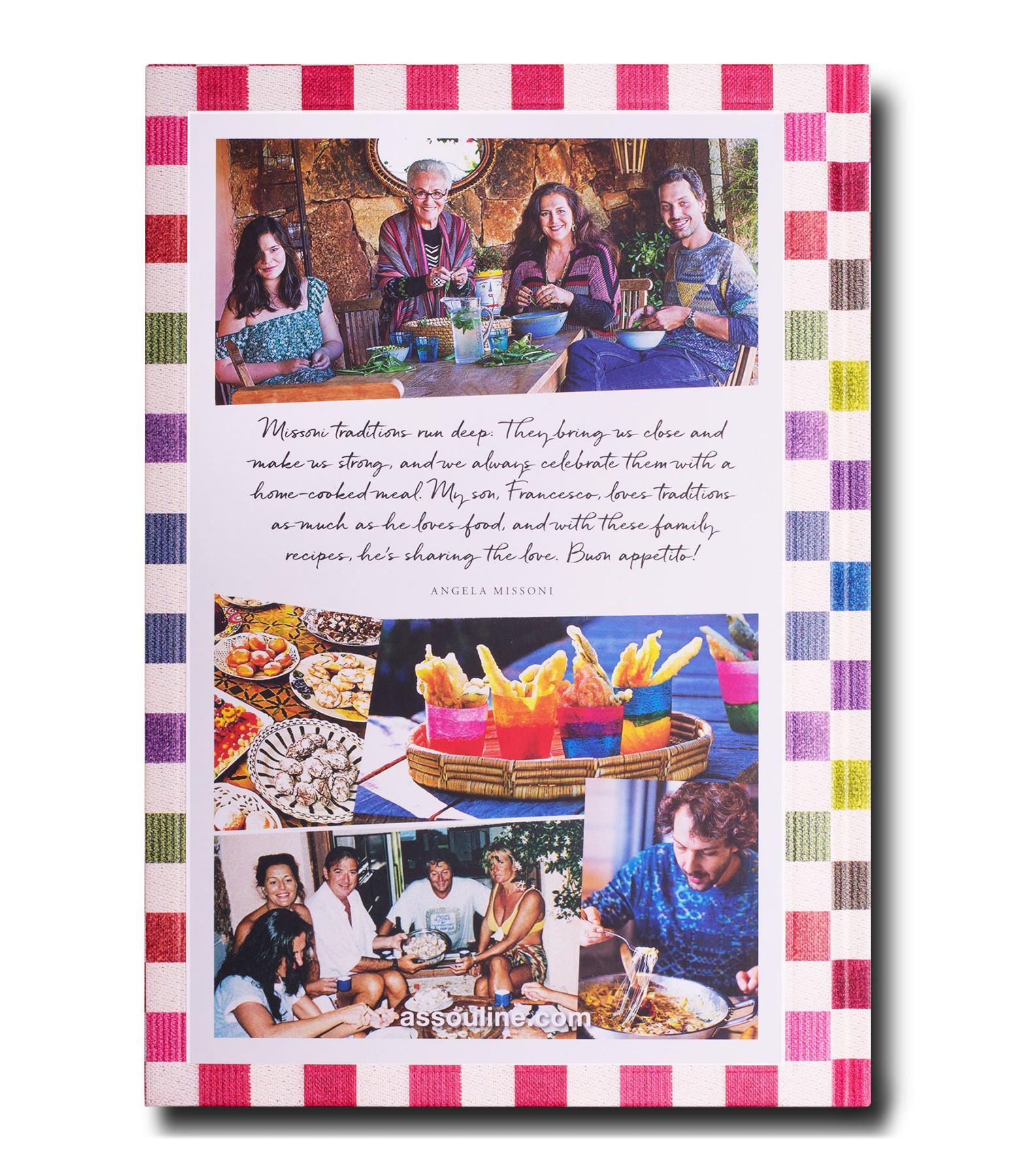 ASSOULINE - Livre Missoni Family Cookbook