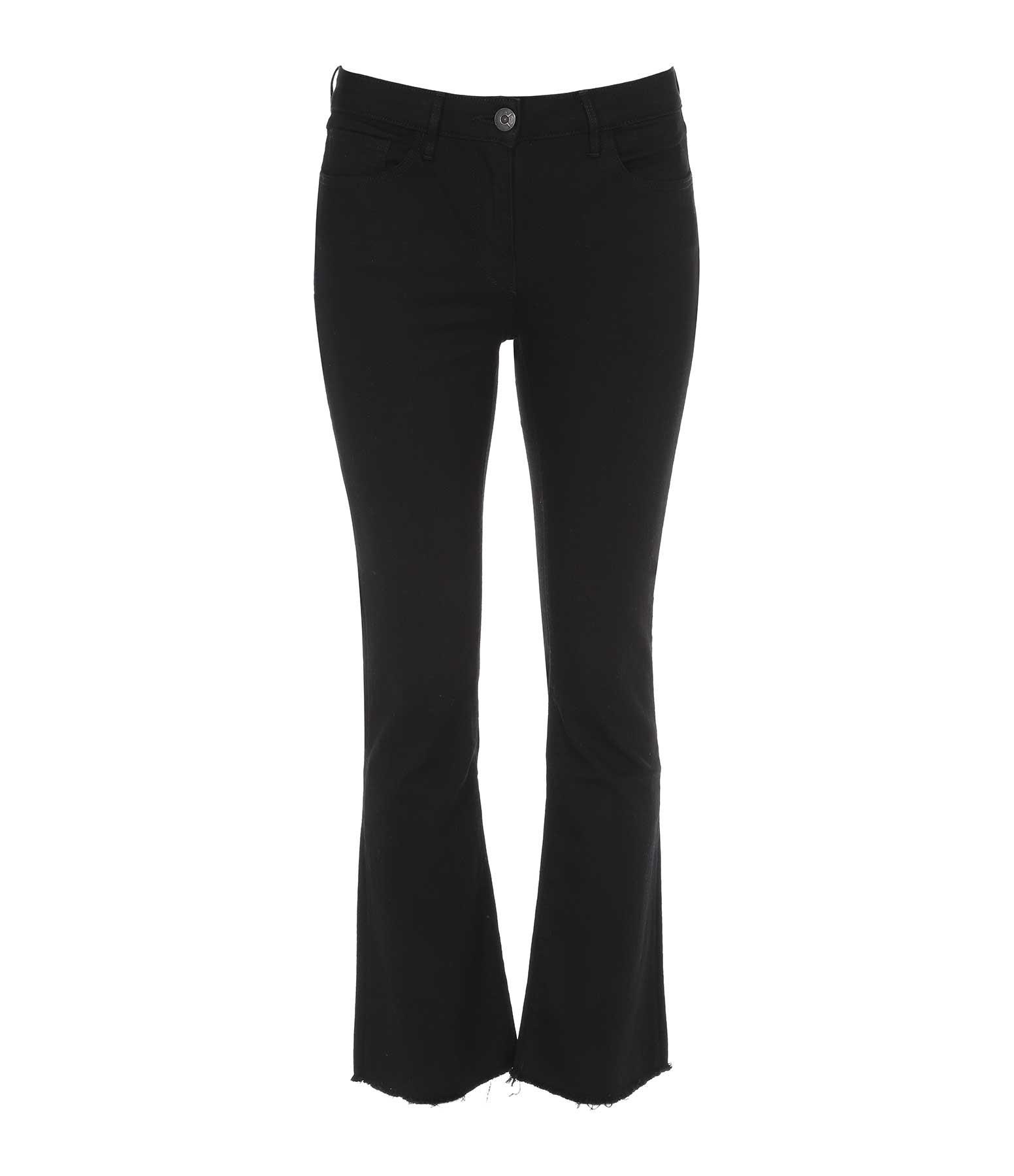3x1 - Jean W25 Crop Bootcut Noir