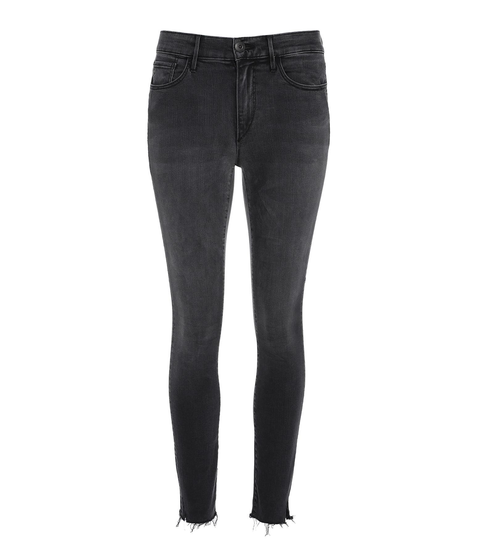 3x1 - Jean Skinny Crop Agate Noir
