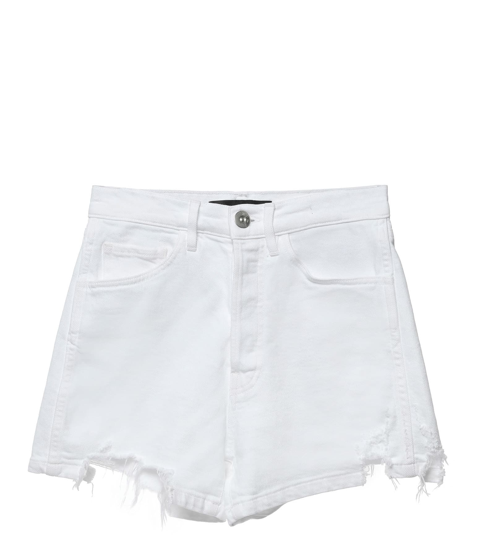 3x1 - Short Carter Denim Whitney Blanc