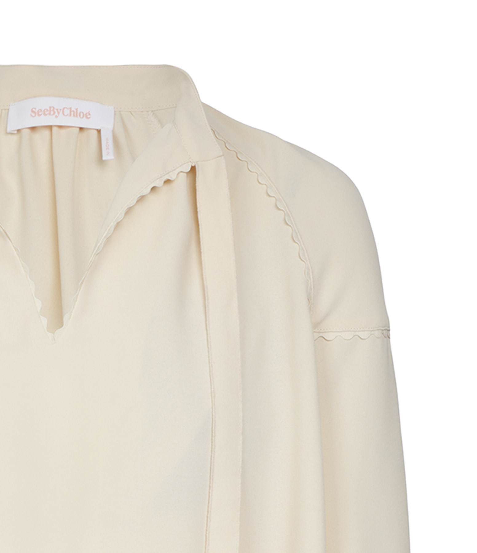 SEE BY CHLOE - Top Angora Beige