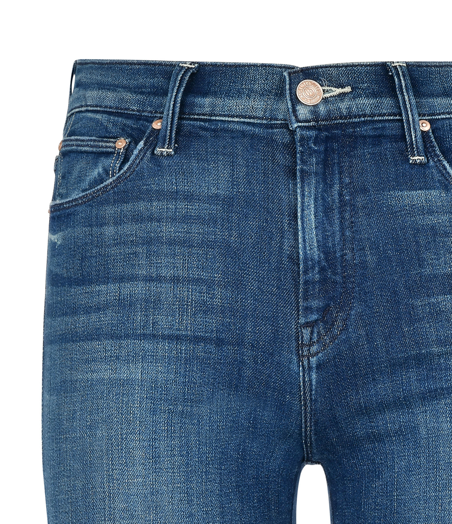 MOTHER - Jean The Weekender Fray Coton Denim