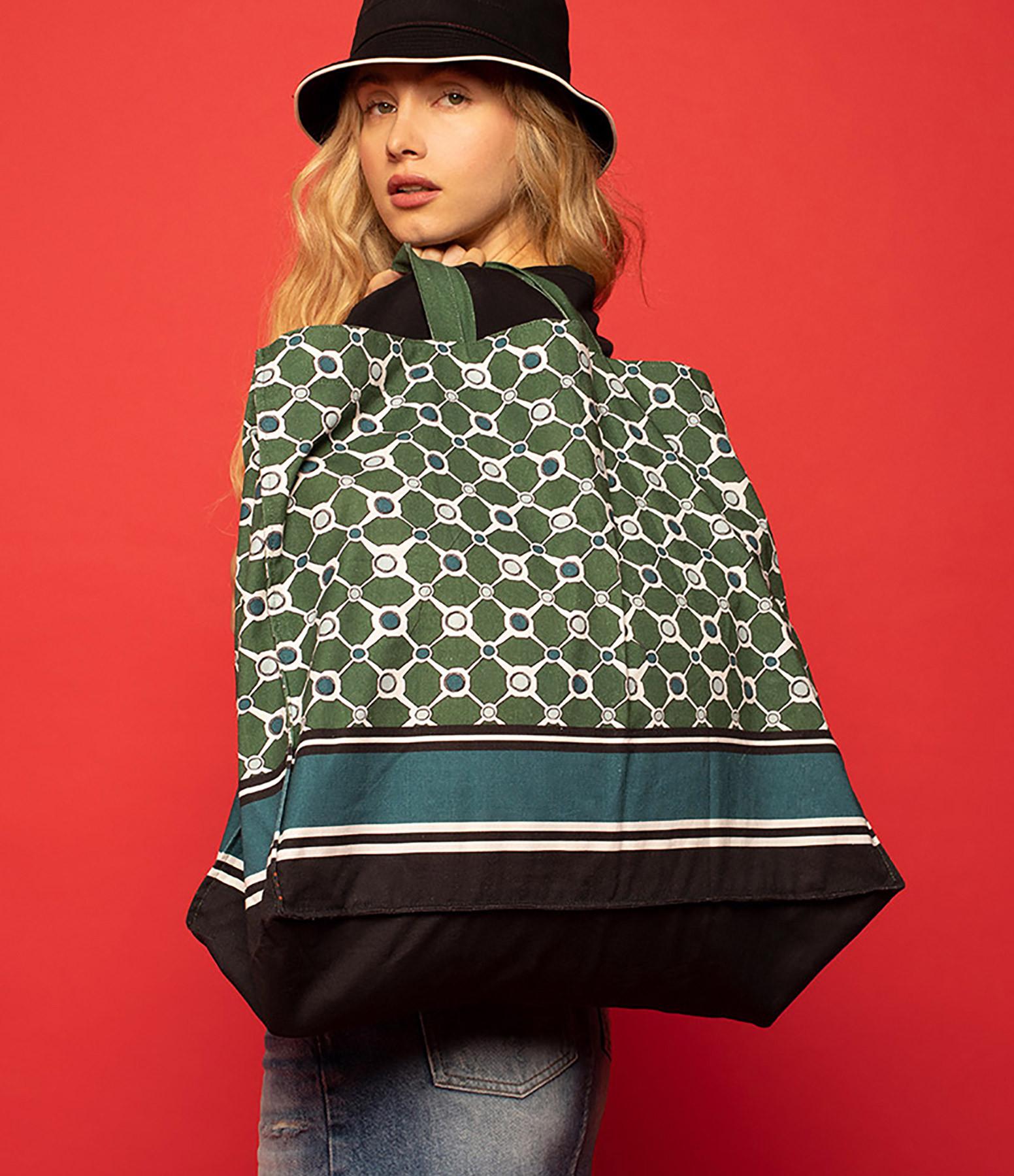 MAISON SARAH LAVOINE - Tote Bag Tuileries Imprimé Bosquet