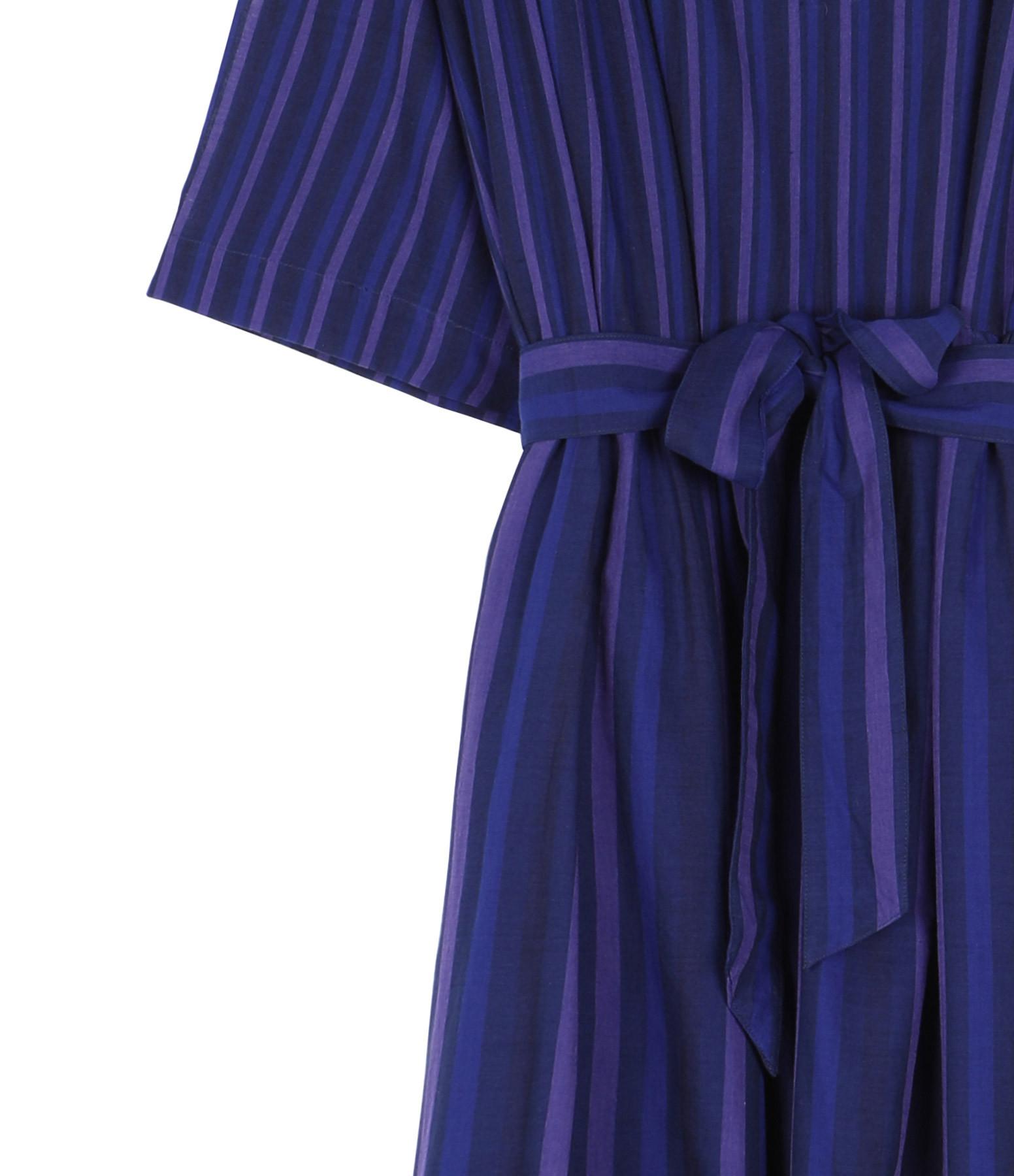 MII - Robe Michelle Coton Bleu