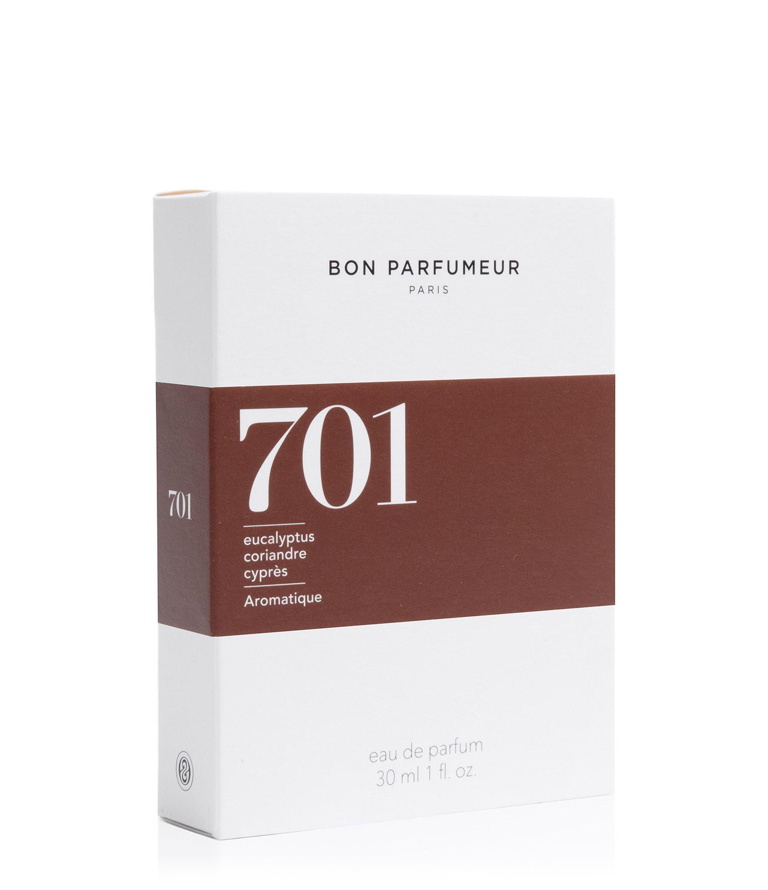 BON PARFUMEUR - Eau de Parfum #701 Eucalyptus, Coriandre, Cyprès, Bois Blanc, Ambre
