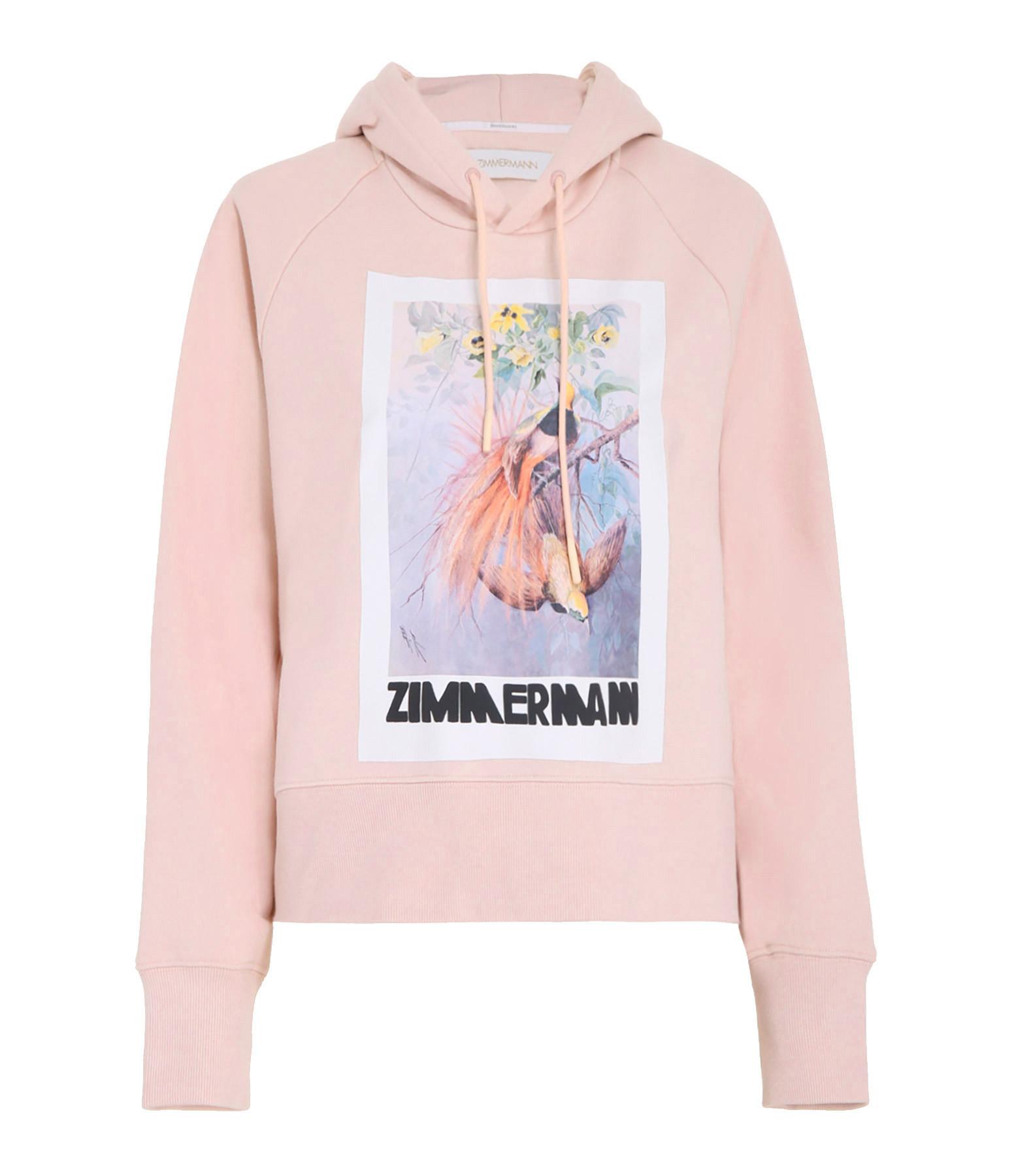 ZIMMERMANN - Sweatshirt Botanica Peony Rose
