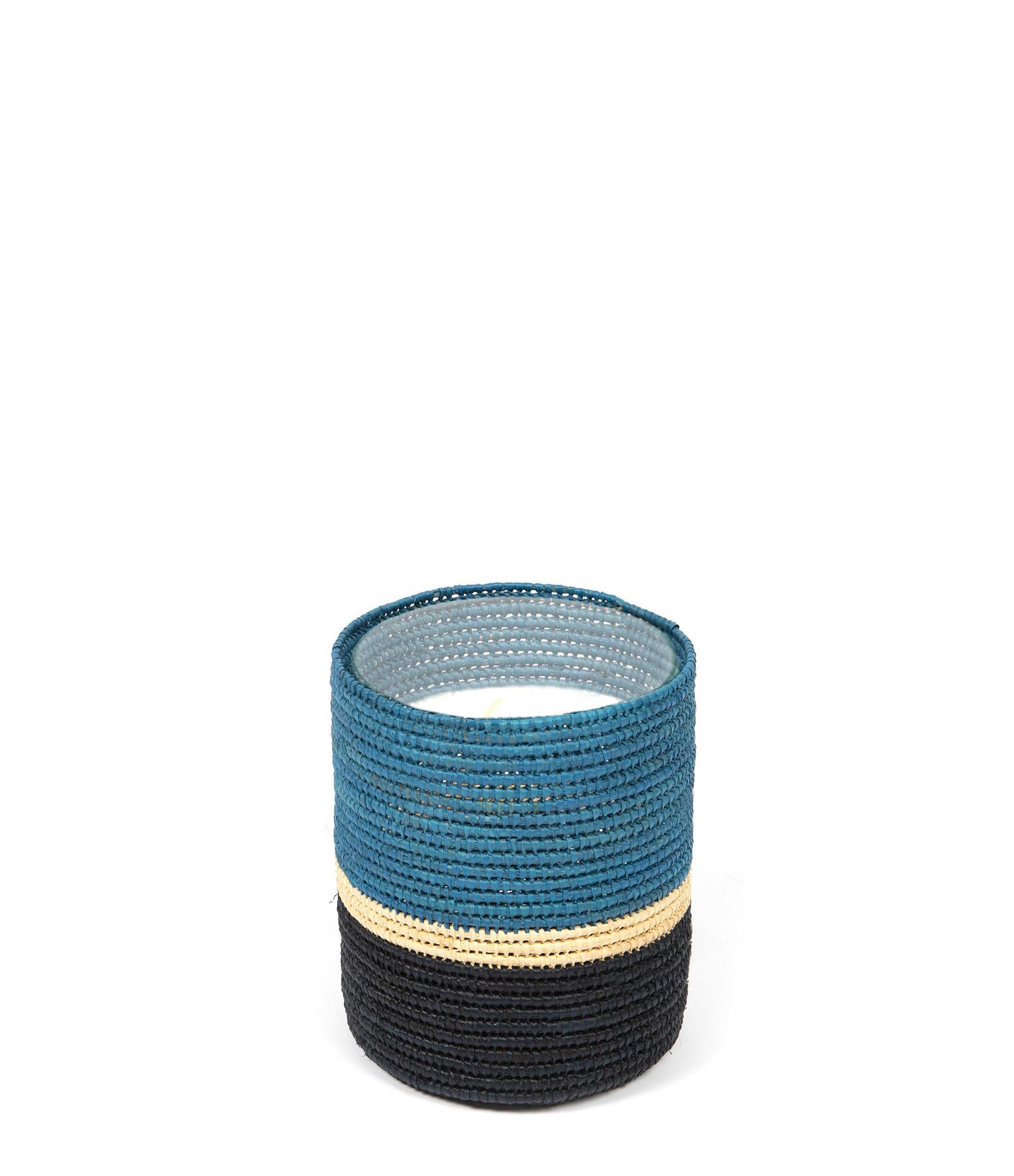MAISON SARAH LAVOINE - Bougie Farniente Bleu H15 cm