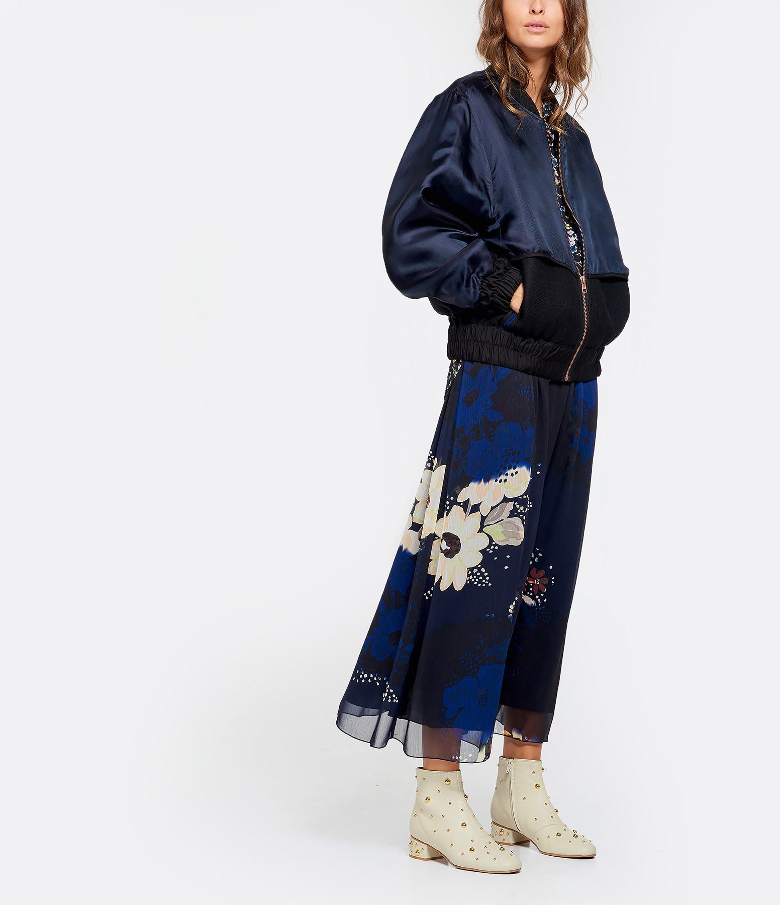 SEE BY CHLOE - Veste Bicolore Noir Bleu