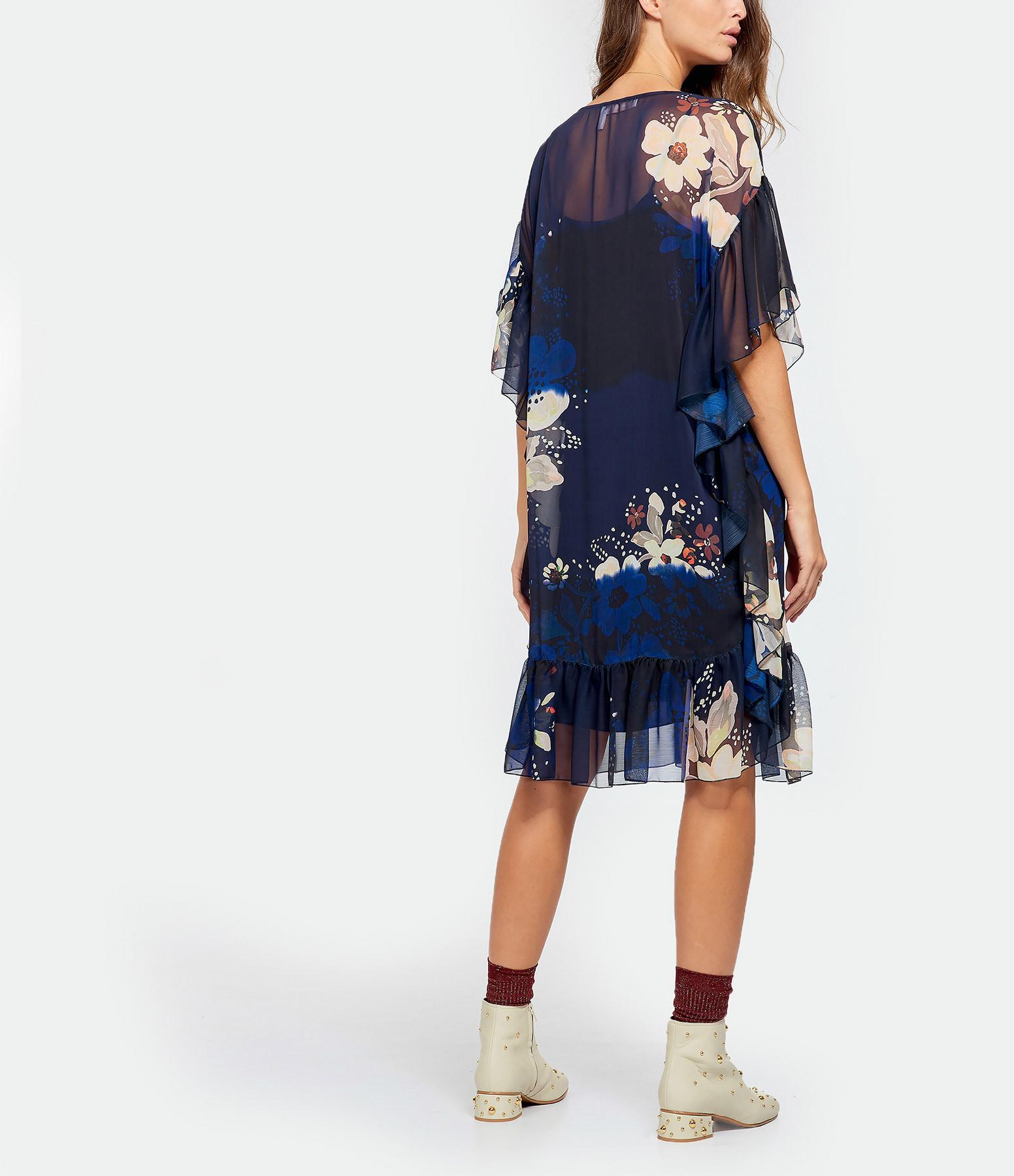 SEE BY CHLOE - Robe Imprimé Floral Bleu