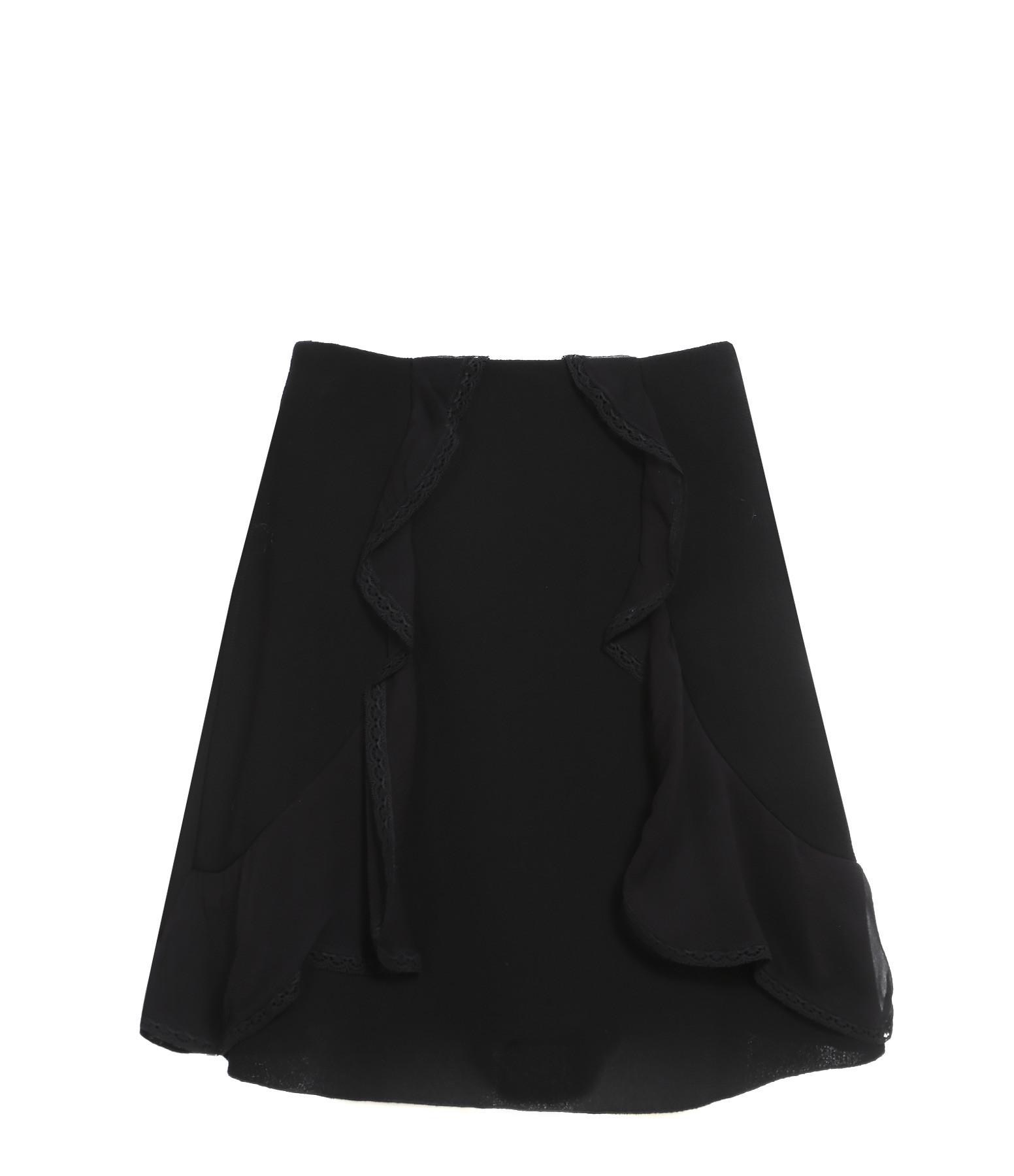 SEE BY CHLOE - Jupe Crepe Noir