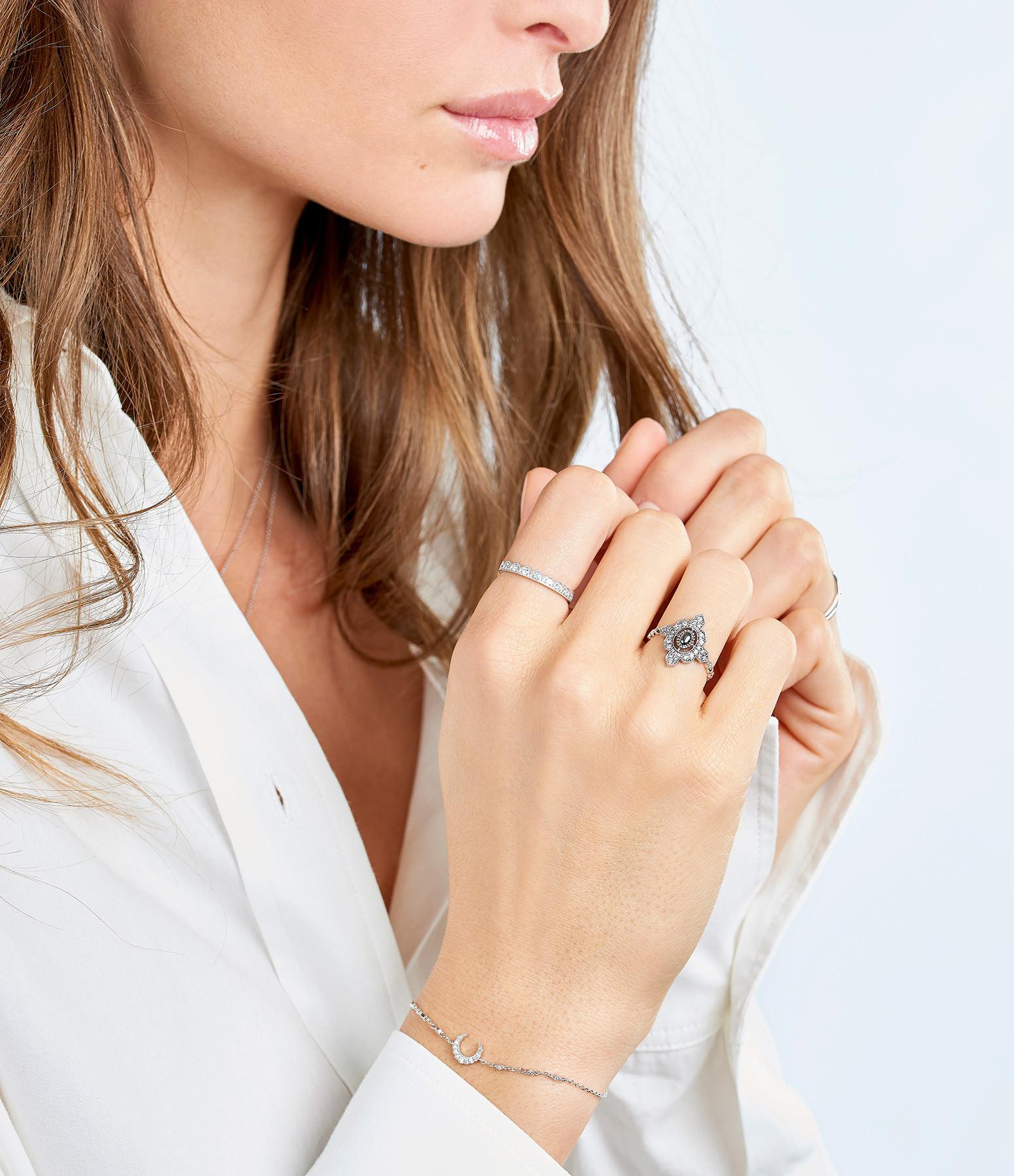 STONE PARIS - Bracelet Moonlight Diamants Or