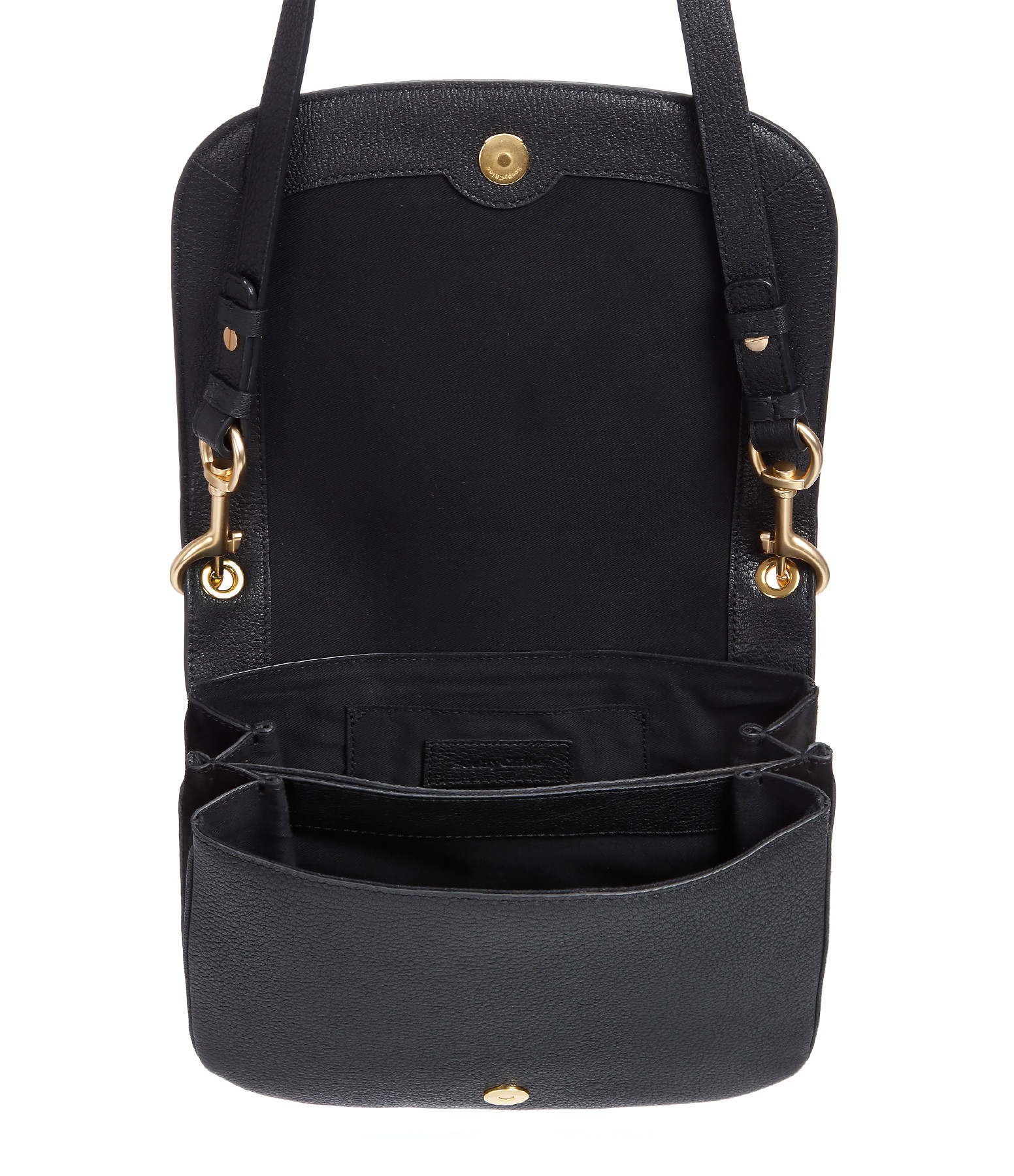 SEE BY CHLOE - Sac Hana GM Double Cuir Noir