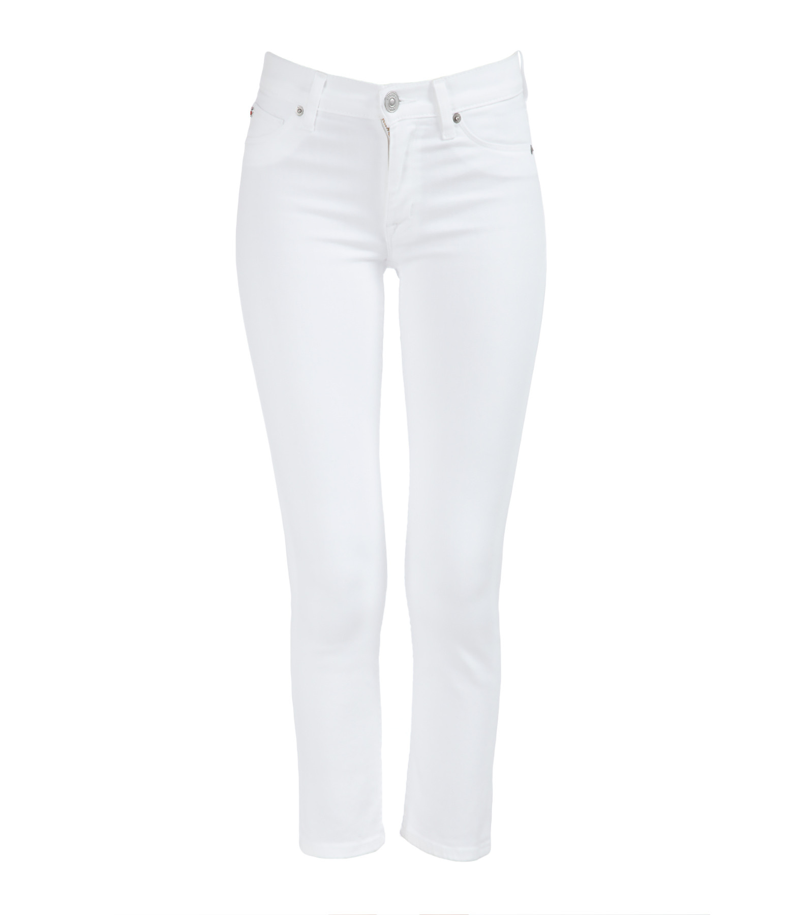 Jean Fallon Crop White - HUDSON