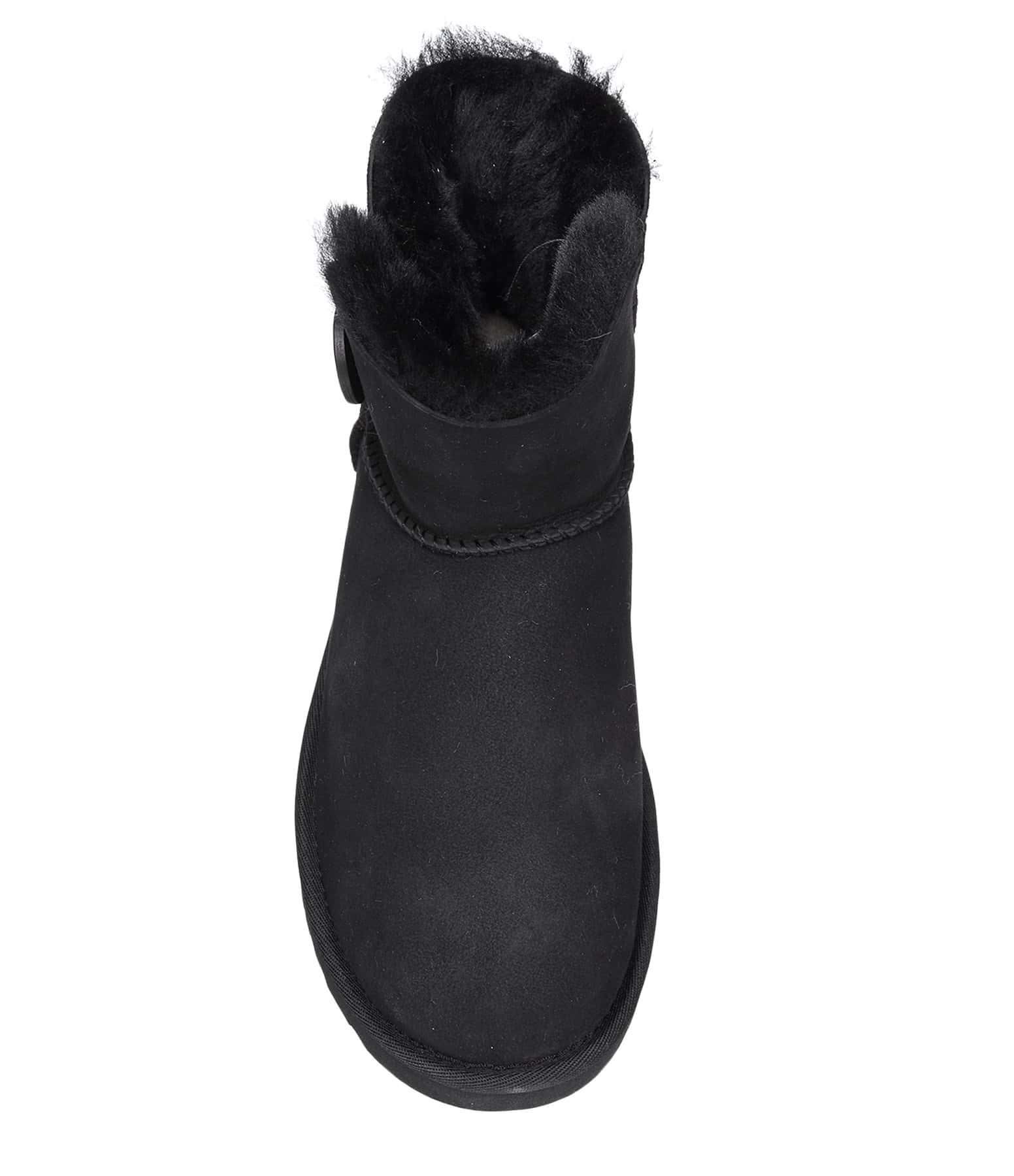 Boots Mini Bailey Button Noir - UGG