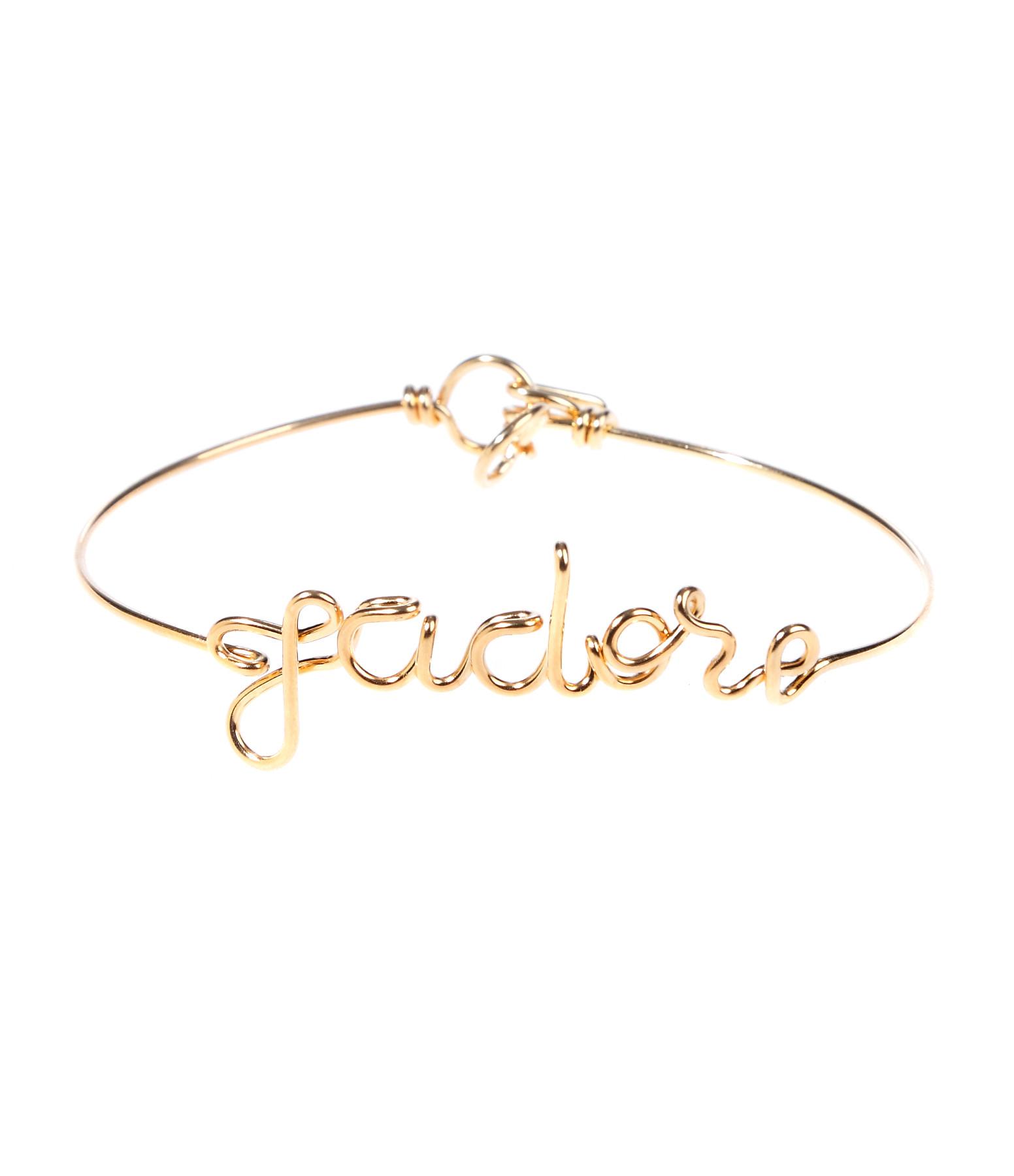 Bracelet Fil Exclu Lulli Jadore Gold Filled - ATELIER PAULIN