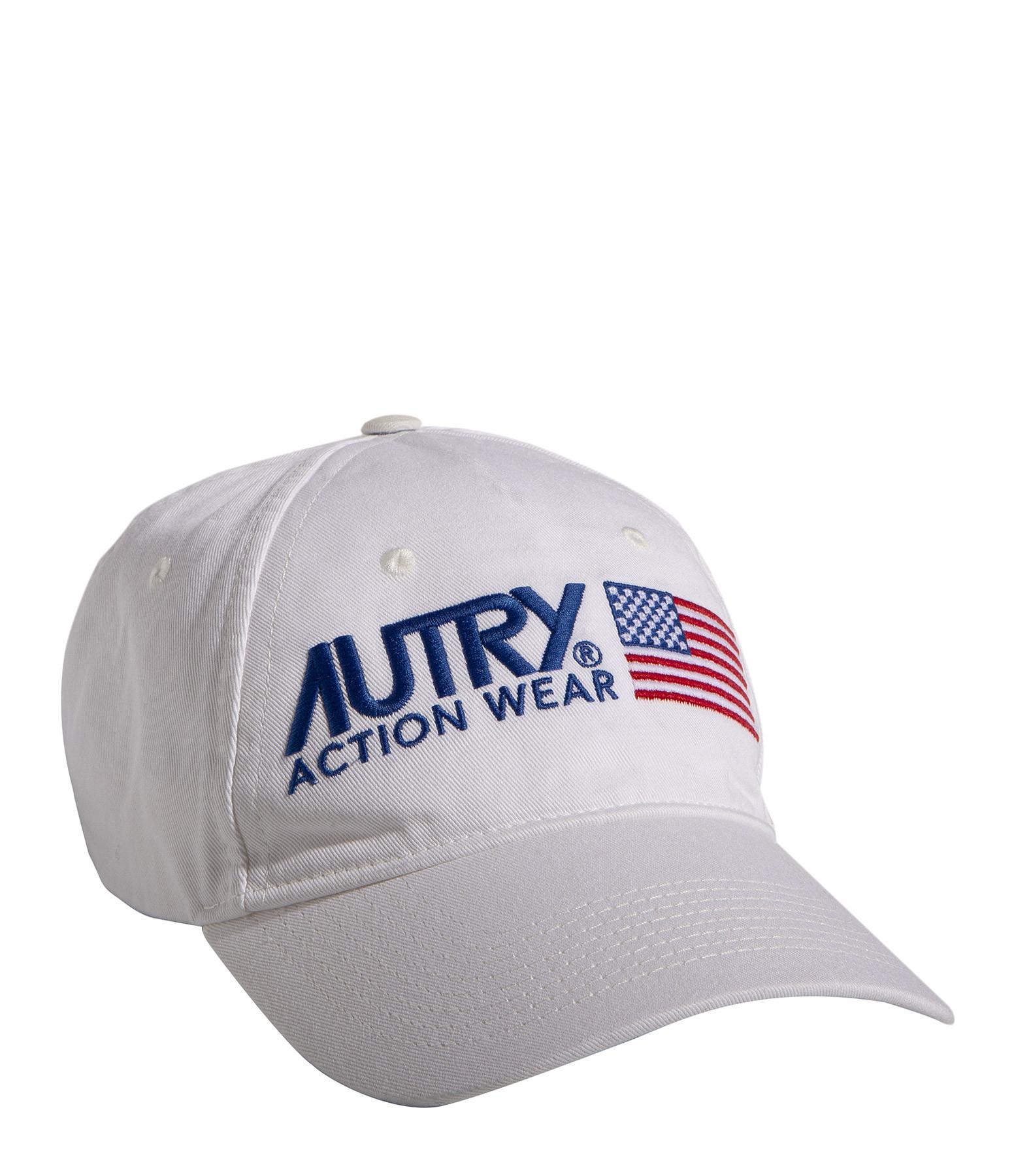 AUTRY - Casquette Unisexe Blanc, Capsule