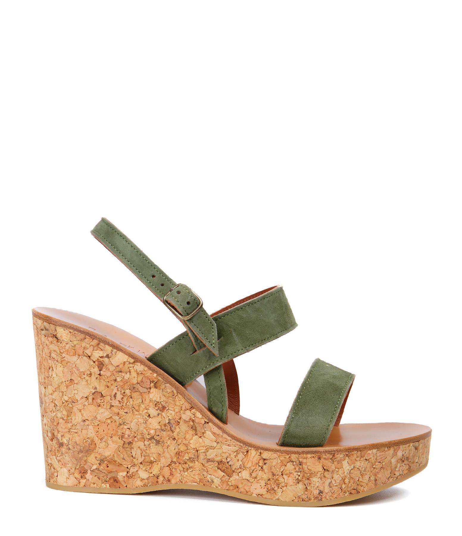 Sandales Borneo Vel Lichen - K JACQUES