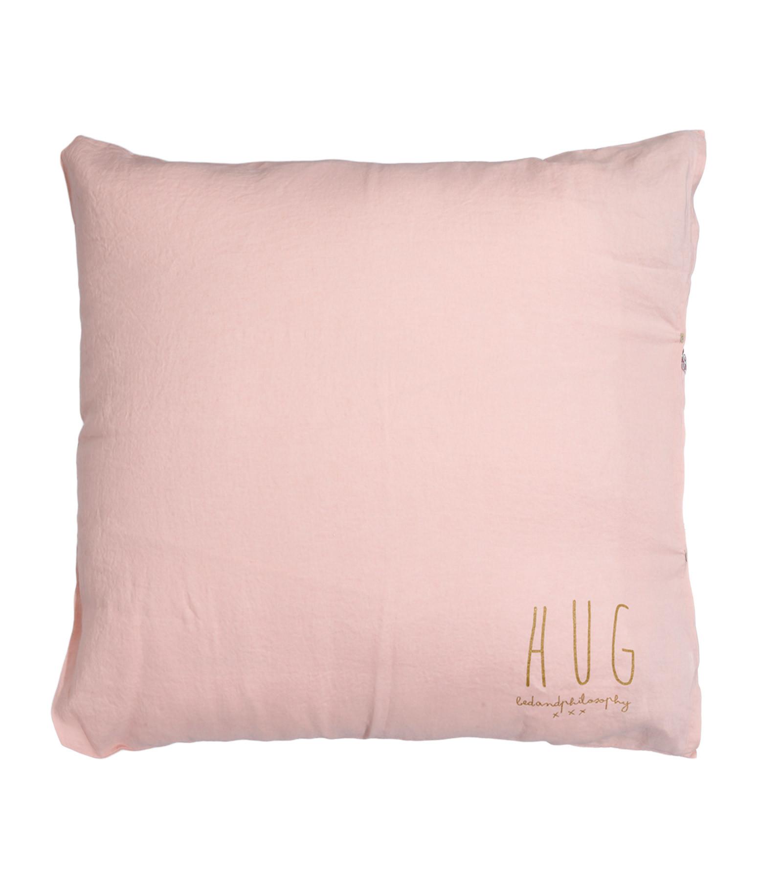 grand coussin hug lin blush bed and philosophy. Black Bedroom Furniture Sets. Home Design Ideas
