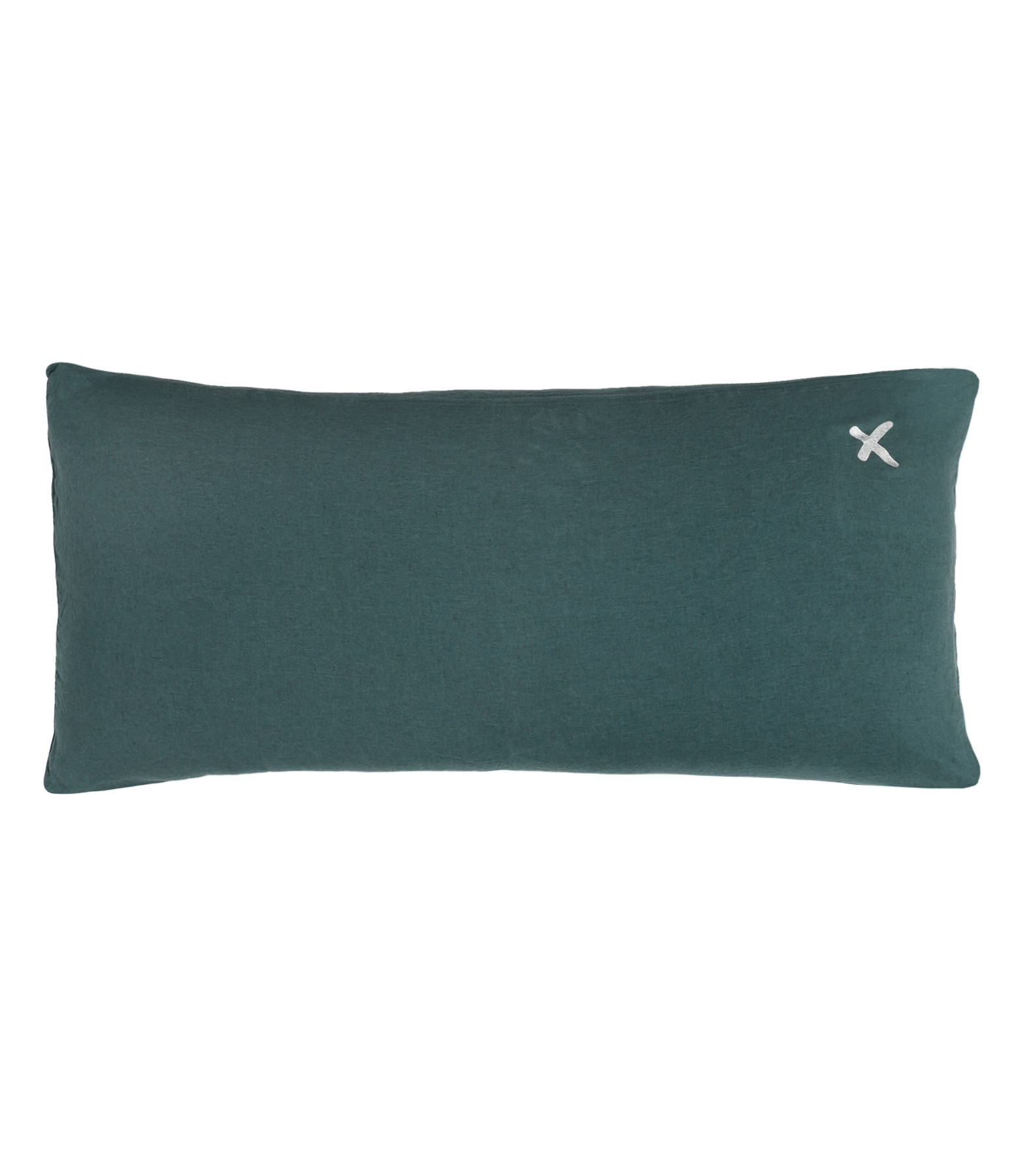 BED AND PHILOSOPHY - Coussin Lovers Lin Greenday Croix Argenté