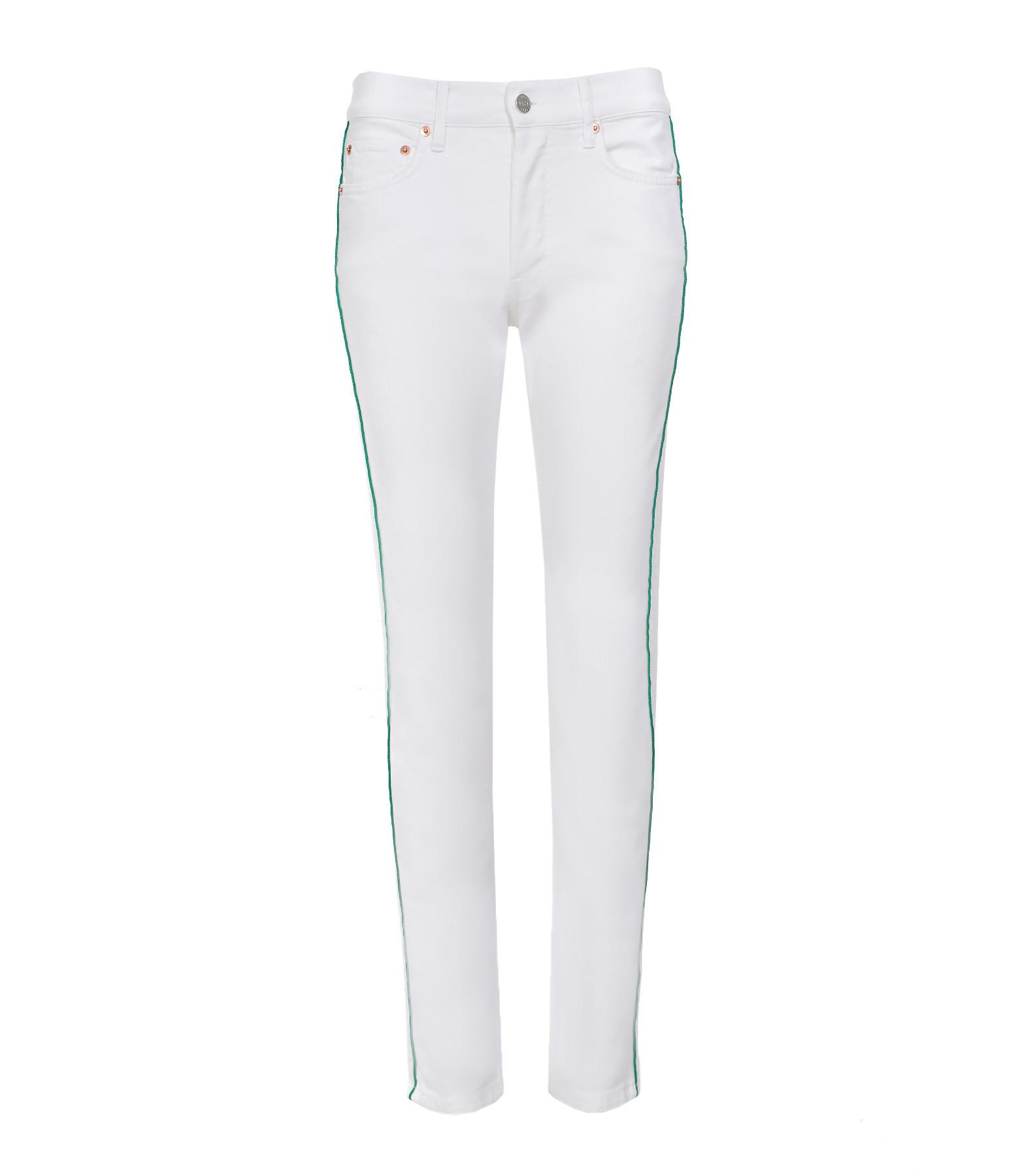 HOLIDAY - Pantalon Camarguais Serge Blanc Vert