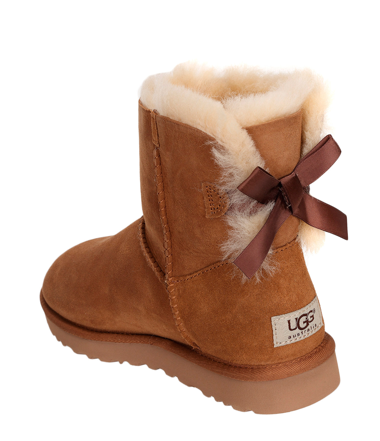 Boots Mini Bailey Bow Chestnut - UGG