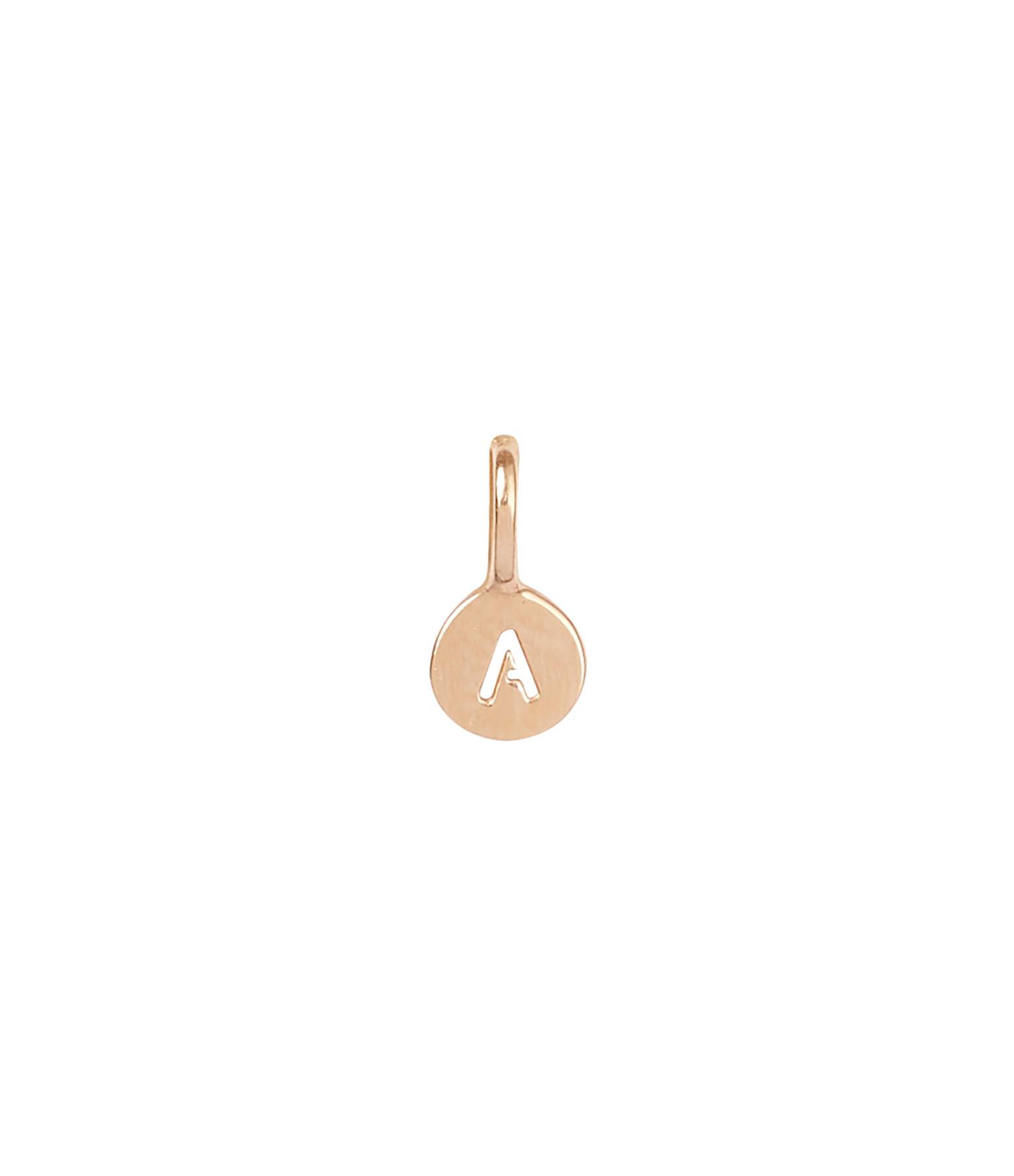 ORADENA - Médaille Or Lettre Ajourée