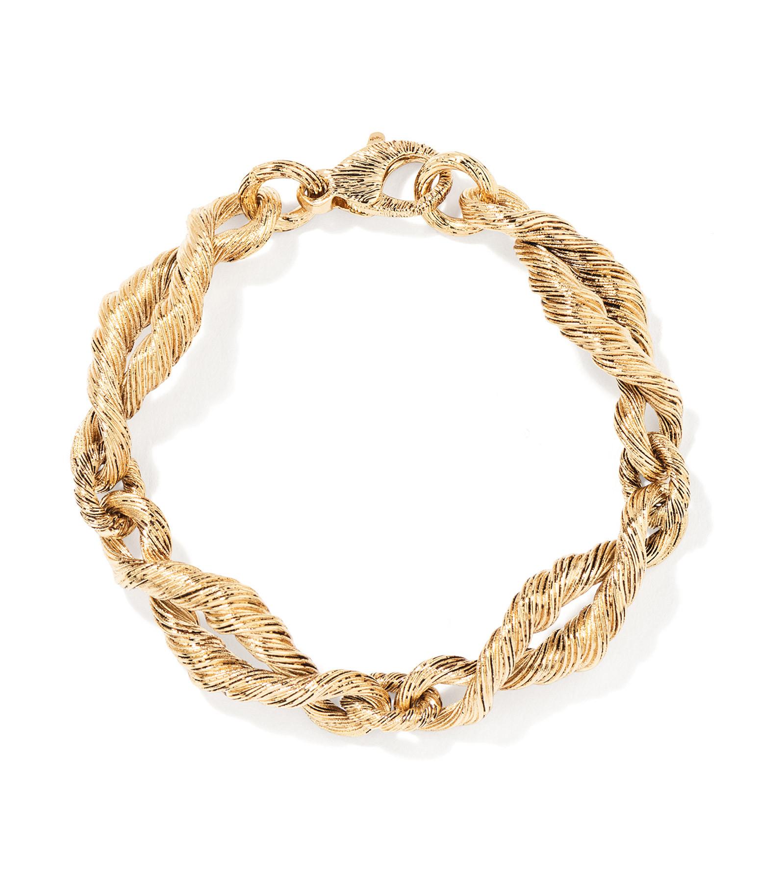 AURELIE BIDERMANN - Bracelet Lola Plaqué Or Jaune