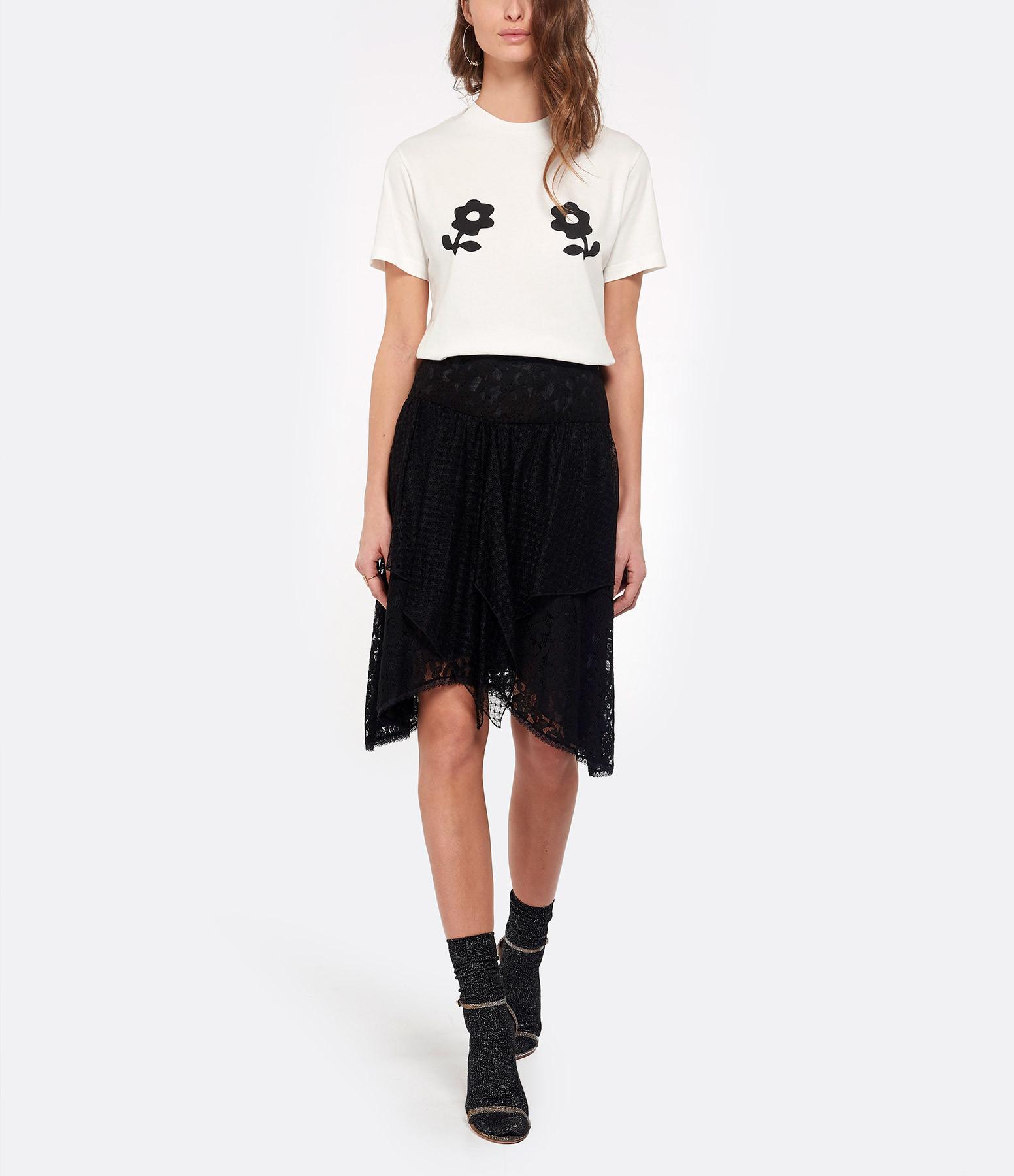 ALEXA CHUNG - Tee-shirt Daisy Ivoire