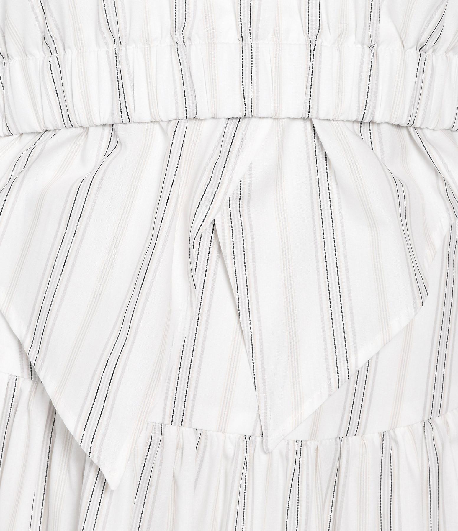ALEXA CHUNG - Robe Dos Nu Crème Camel