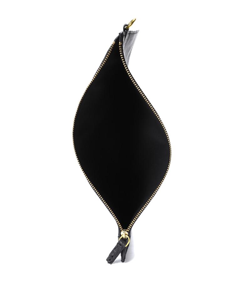 JEROME DREYFUSS - Pochette Popoche L Chèvre Noir